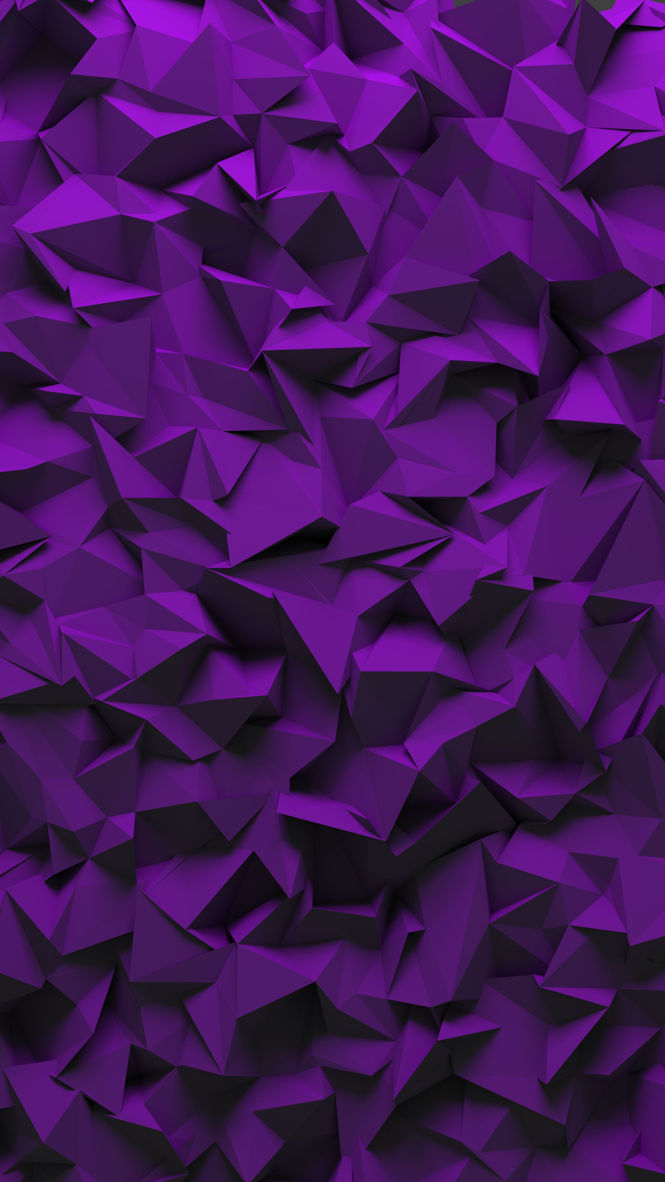 127281 download wallpaper Textures, Texture, Fragments, Triangles, Volume, Purple, Violet screensavers and pictures for free