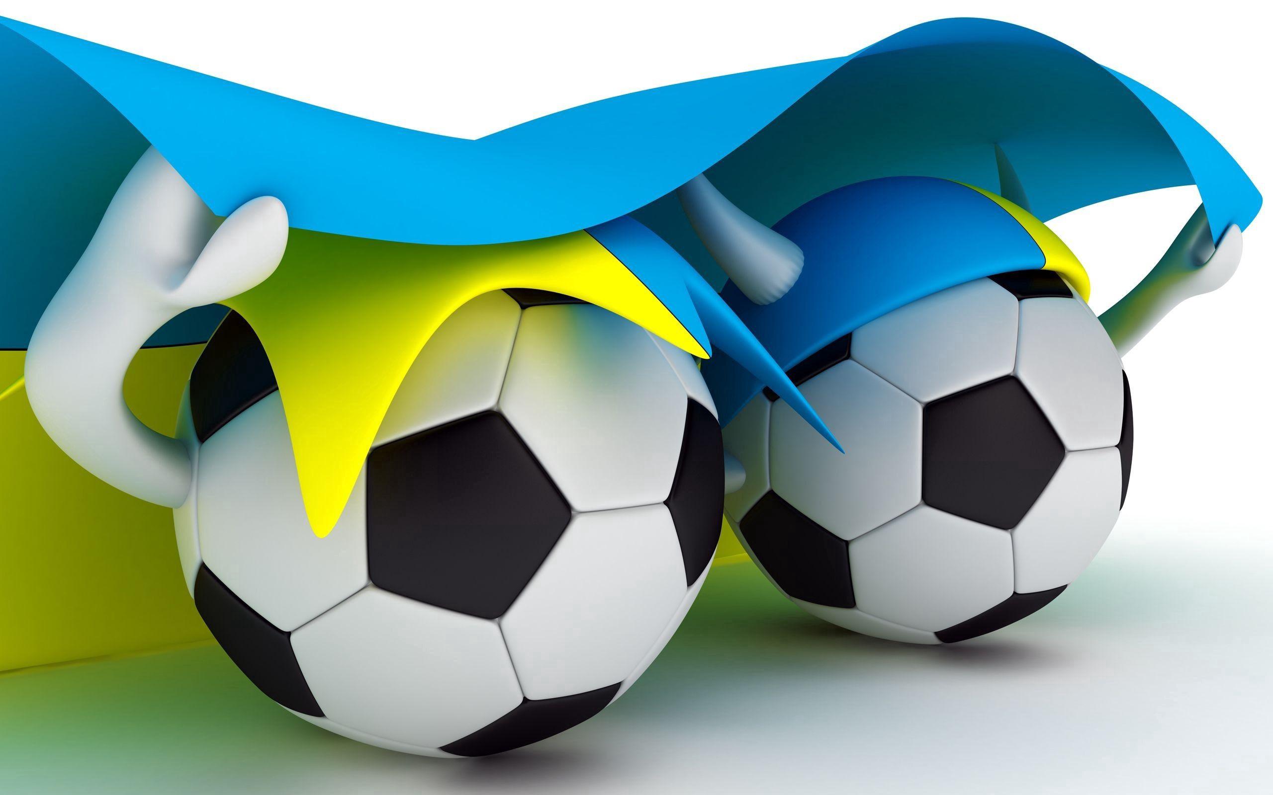90711 скачать обои Мяч, Футбол, Спорт, Украина, Флаг - заставки и картинки бесплатно