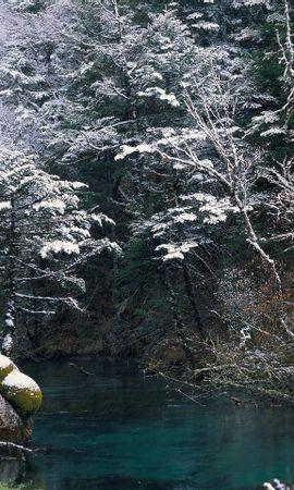 26361 скачать обои Пейзаж, Река, Деревья - заставки и картинки бесплатно