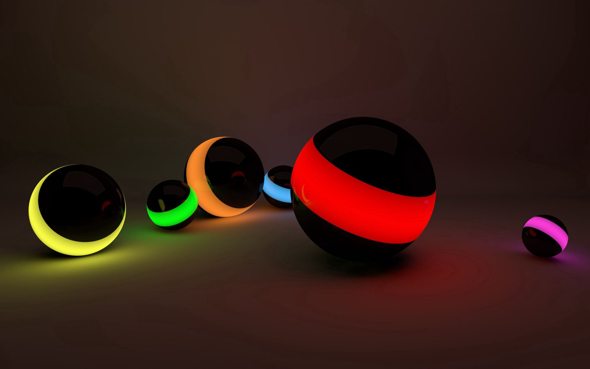 136809 Screensavers and Wallpapers Balls for phone. Download 3D, Shine, Light, Lines, Neon, Balls pictures for free