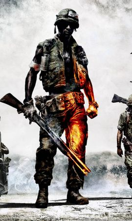 22540 download wallpaper Games, Men, Soldiers screensavers and pictures for free