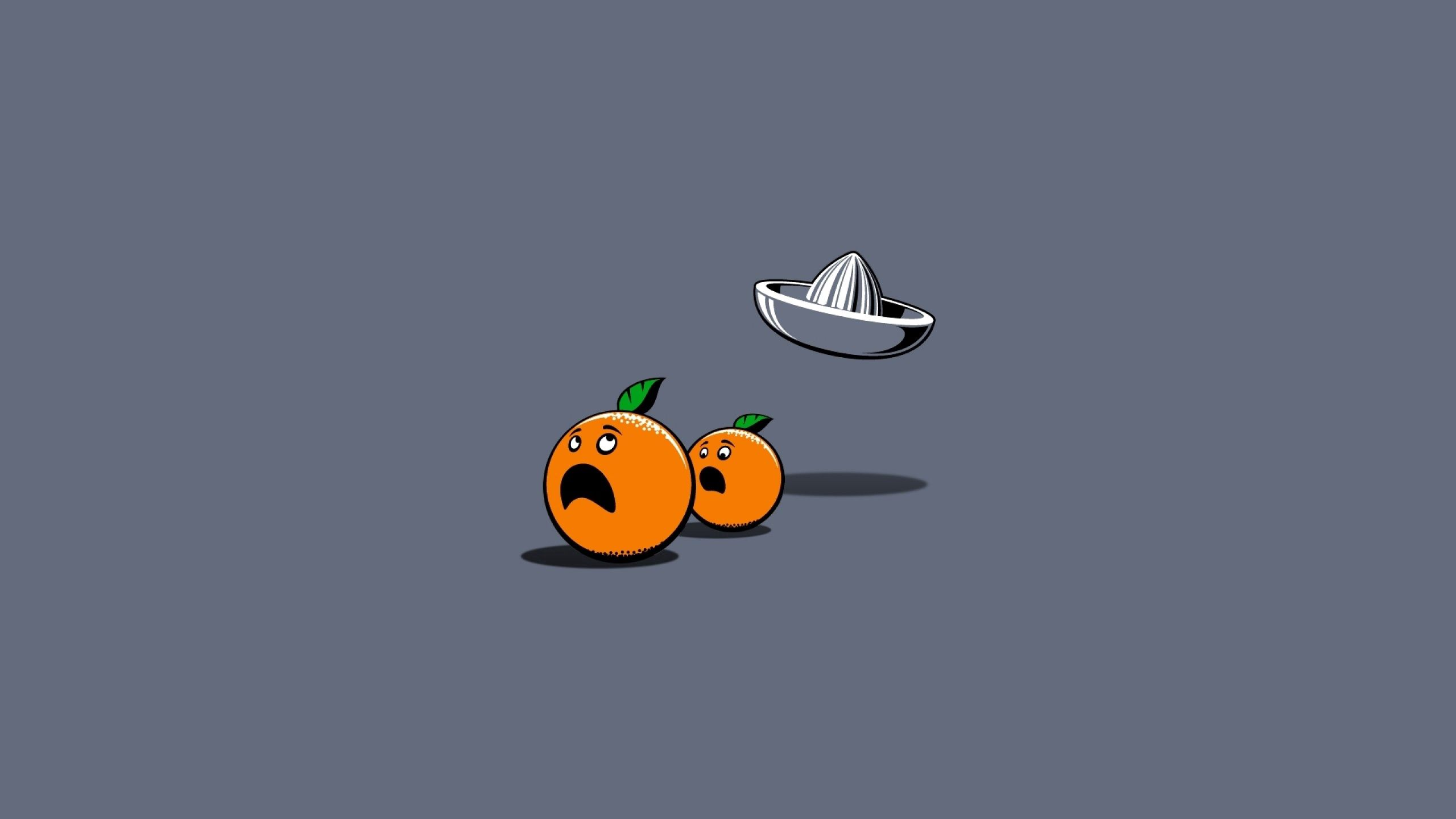 132610 download wallpaper Oranges, Vector, Paper, Emotions, Chase screensavers and pictures for free