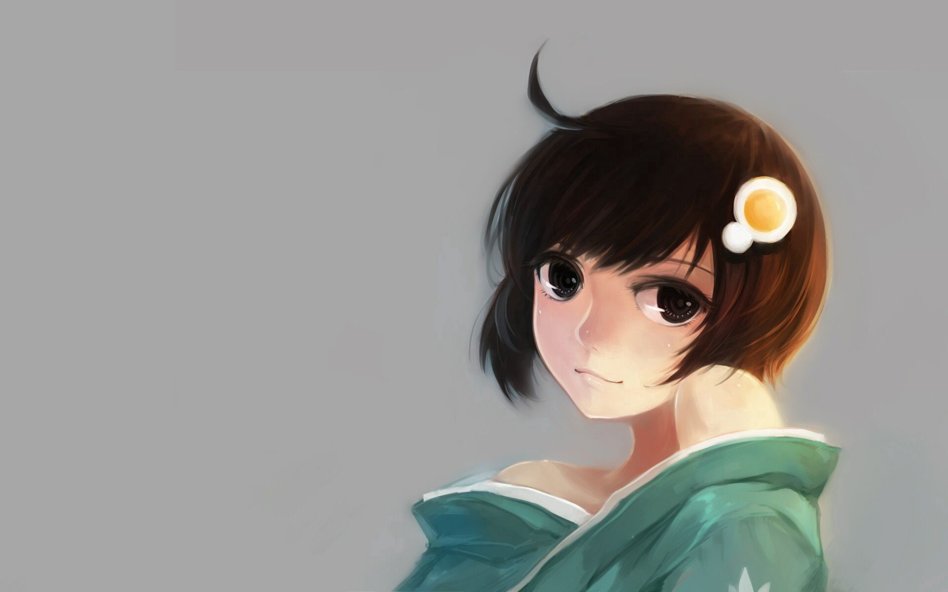 59310 Screensavers and Wallpapers Pretty for phone. Download Anime, Smile, Girl, Pretty, Brunette pictures for free