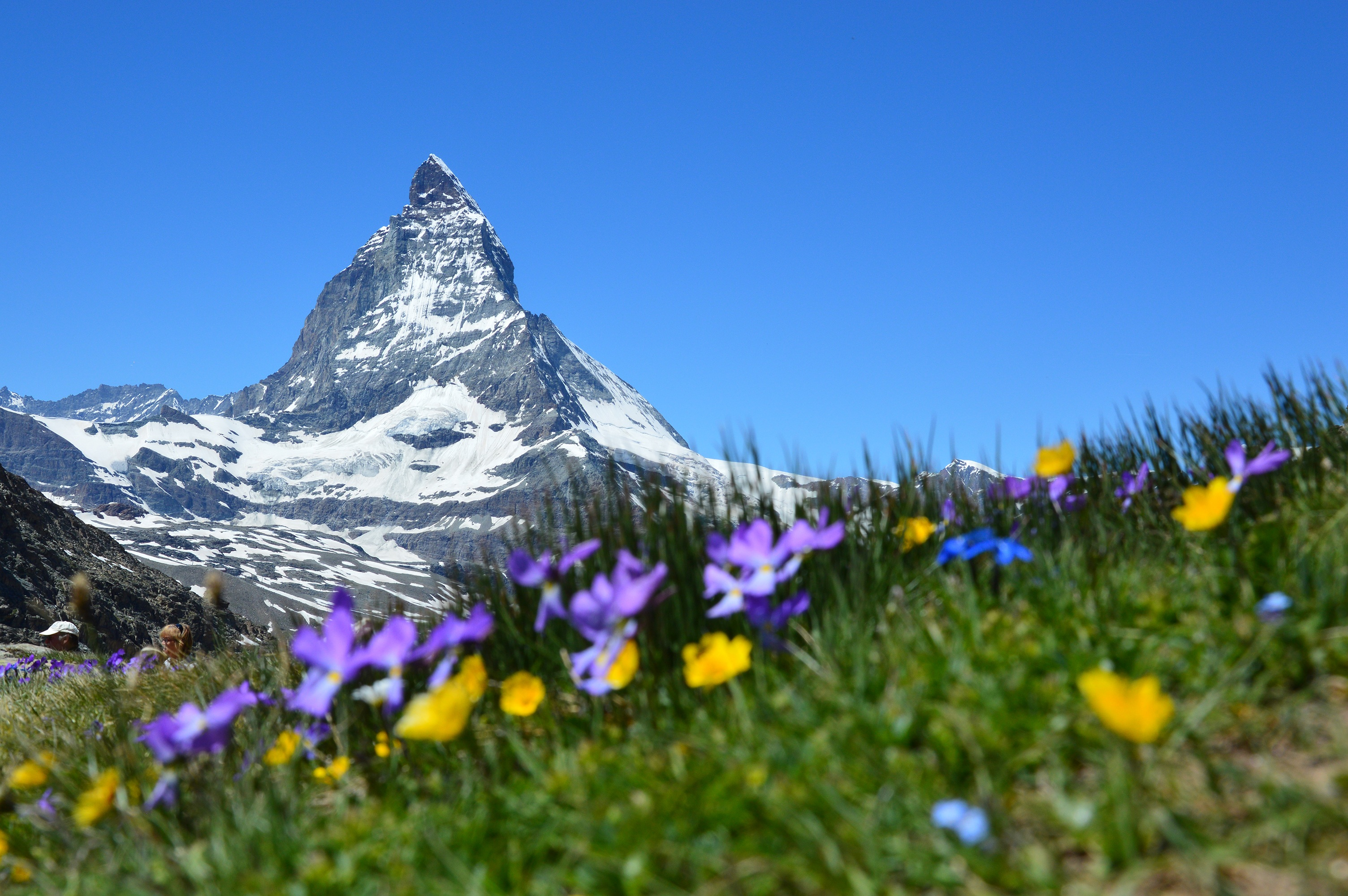 93086 Hintergrundbild herunterladen Mountains, Natur, Alpen, Schweiz, Zermatt, Matterhorn - Bildschirmschoner und Bilder kostenlos