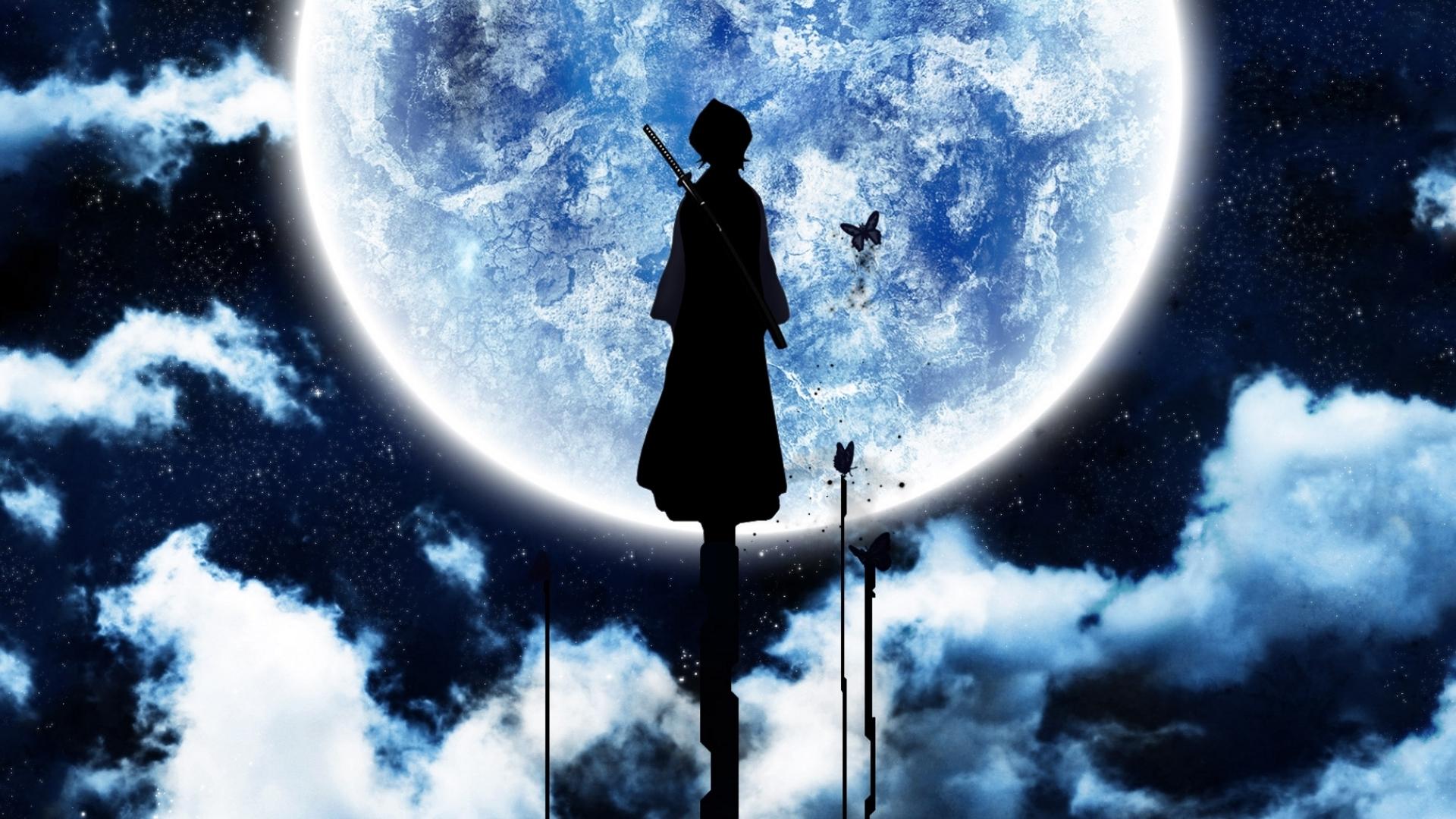 24035 baixar papel de parede Anime, Lua - protetores de tela e imagens gratuitamente