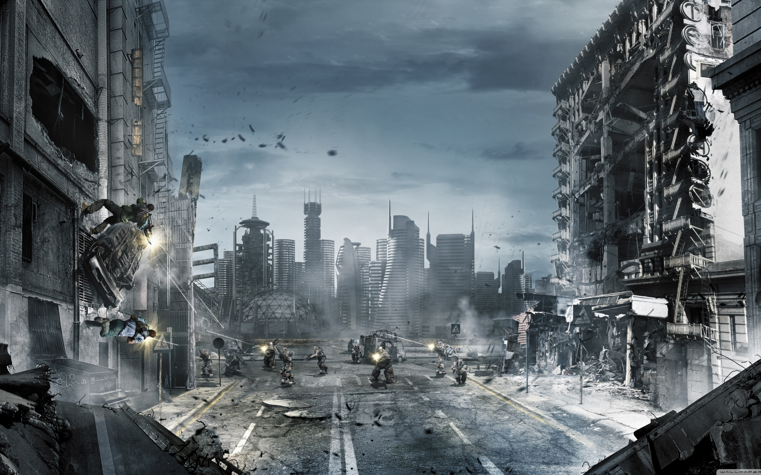 24901 скачать обои Игры, Города, Оружие - заставки и картинки бесплатно