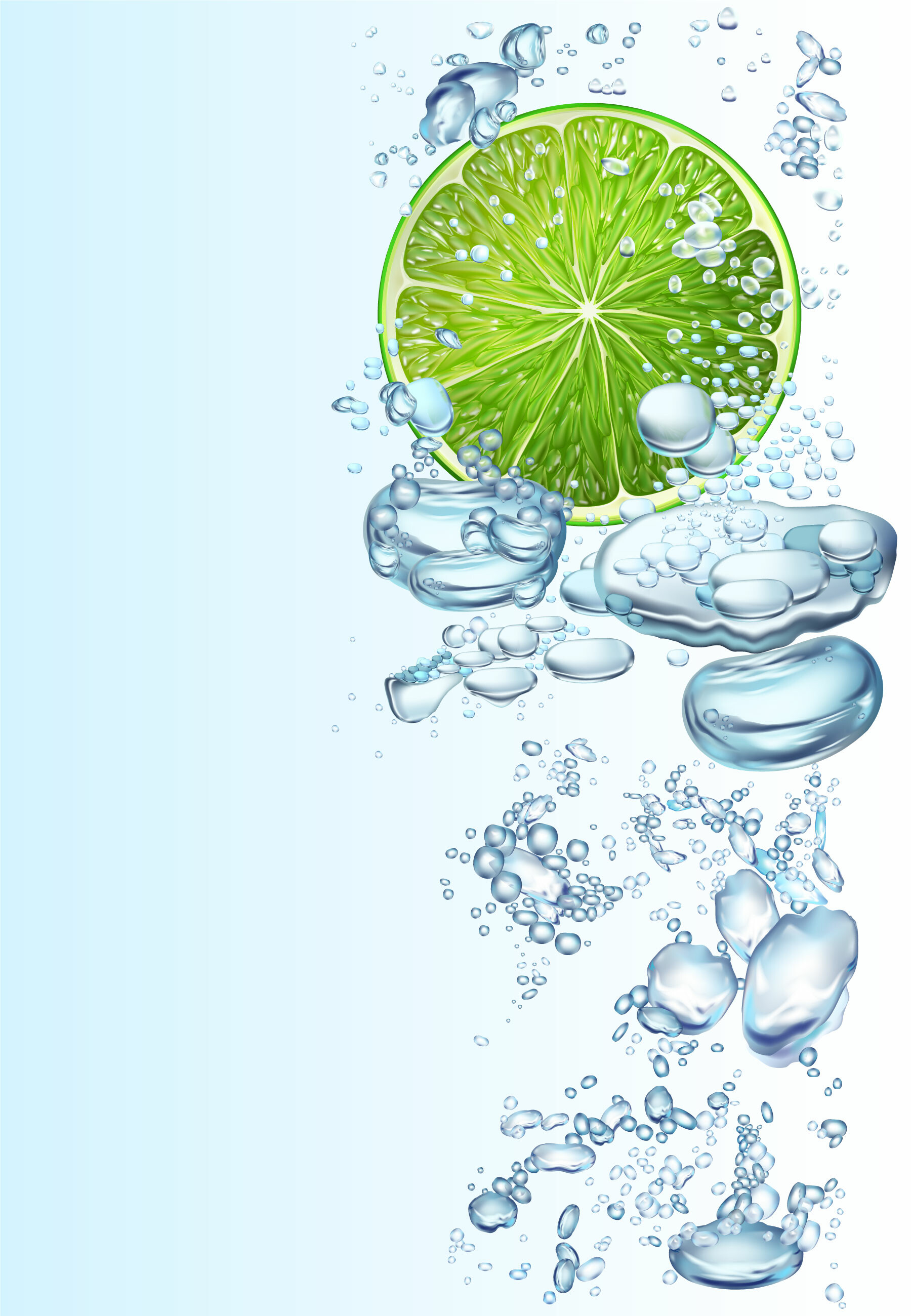 150008 download wallpaper Art, Bubbles, Lime, Liquid, Lobule, Clove screensavers and pictures for free