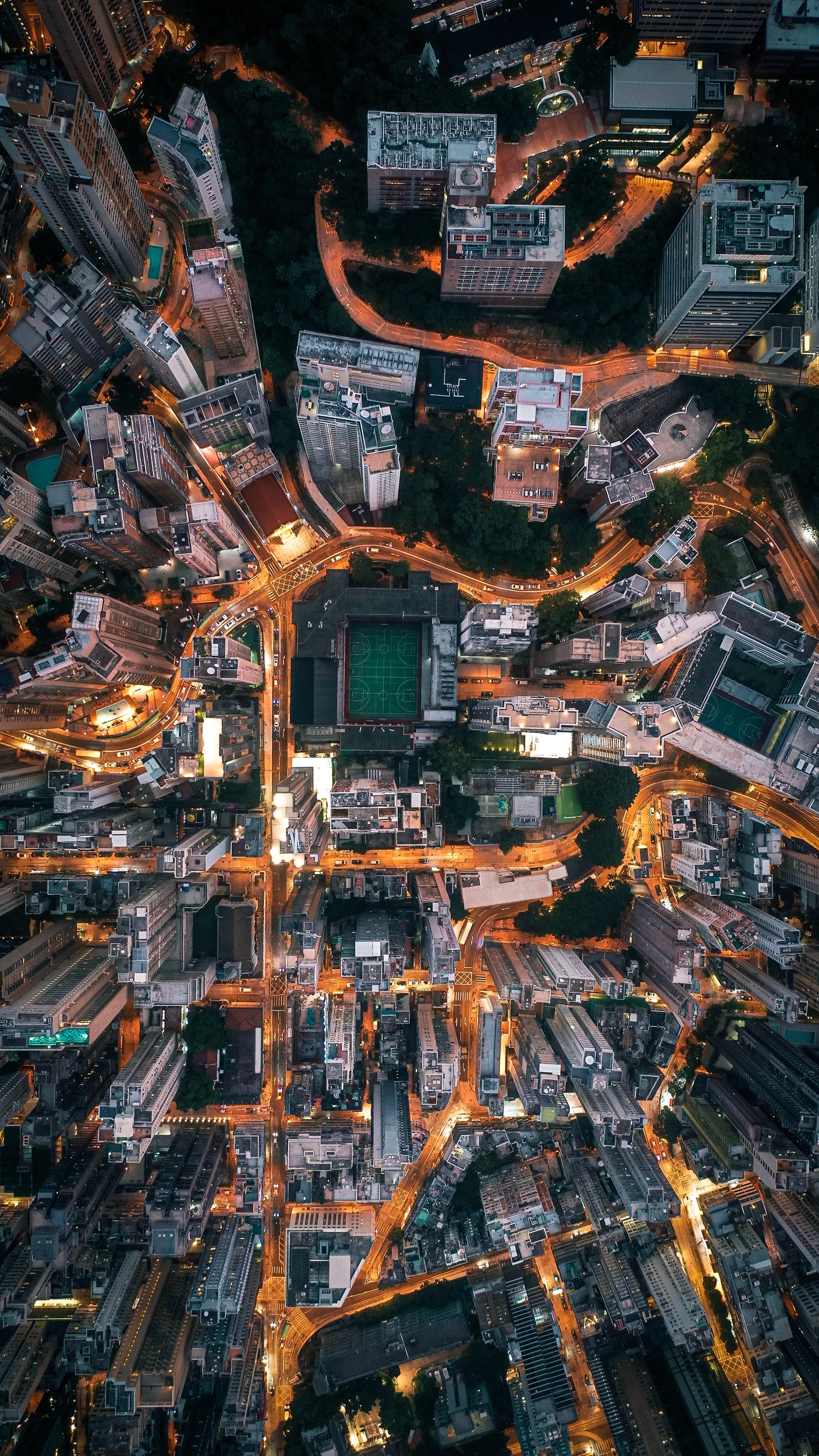 131452 Заставки и Обои Города на телефон. Скачать Город, Вид Сверху, Здания, Обзор, Архитектура, Города картинки бесплатно