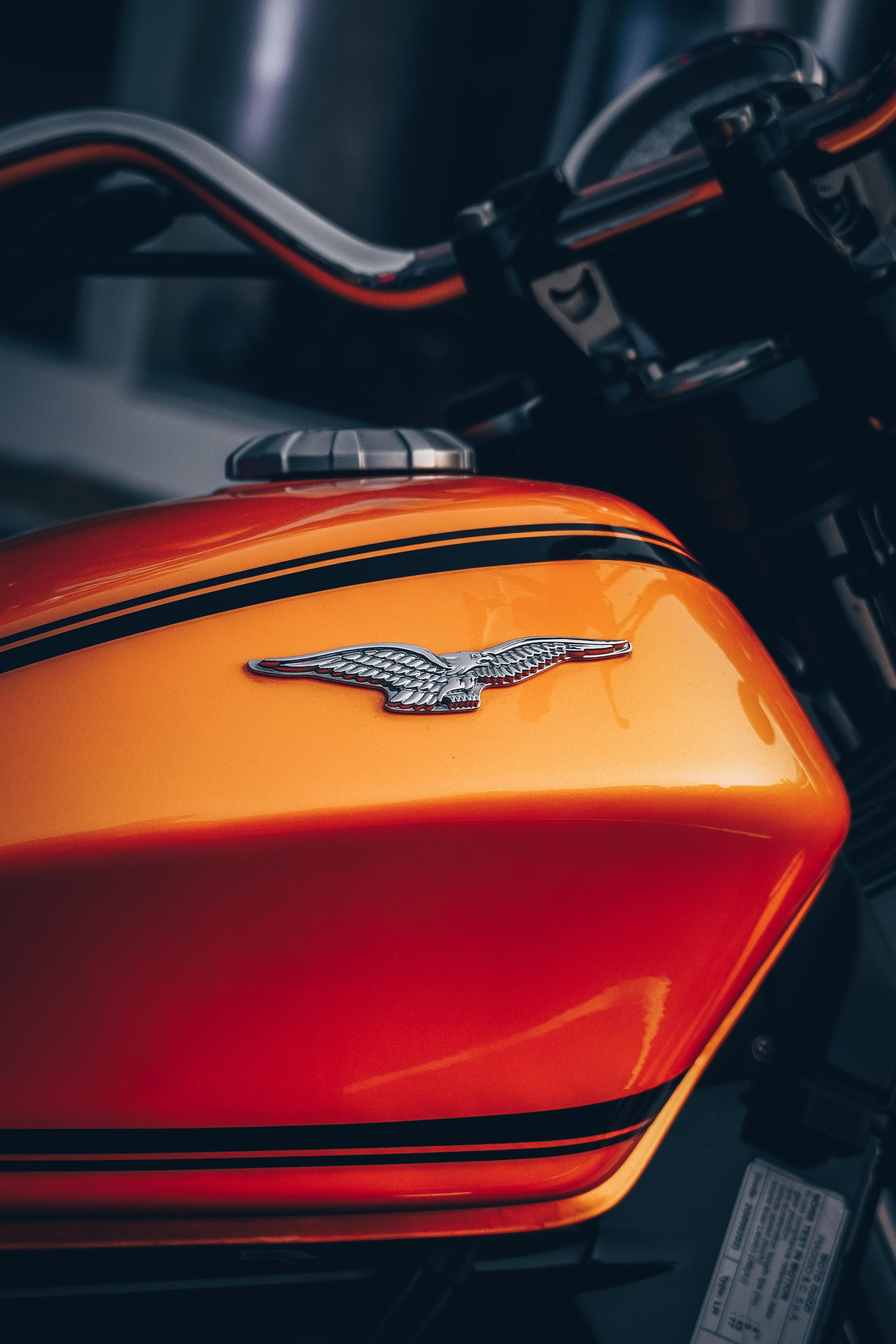 55667 baixar papel de parede Motocicletas, Motocicleta, Bicicleta, Águia, Emblema - protetores de tela e imagens gratuitamente