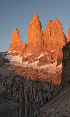 154075 скачать обои Скалы, Вершины, Природа, Горы, Пейзаж - заставки и картинки бесплатно