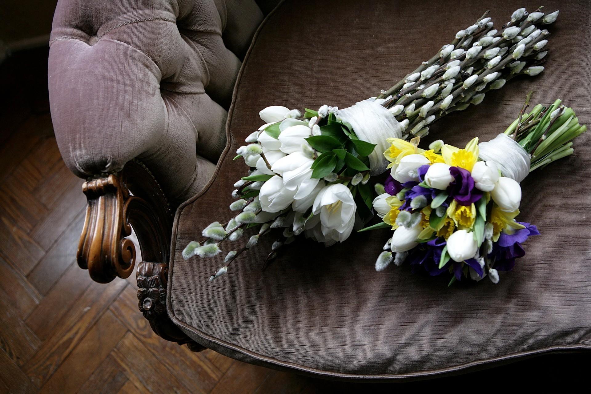 154461 Заставки и Обои Нарциссы на телефон. Скачать Букеты, Цветы, Тюльпаны, Нарциссы, Весна, Верба, Пуфик картинки бесплатно
