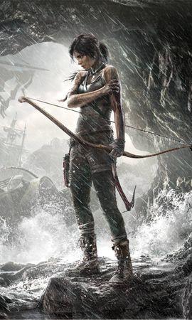 17548 скачать обои Игры, Люди, Девушки, Рисунки, Расхитительница Гробниц (Tomb Raider) - заставки и картинки бесплатно