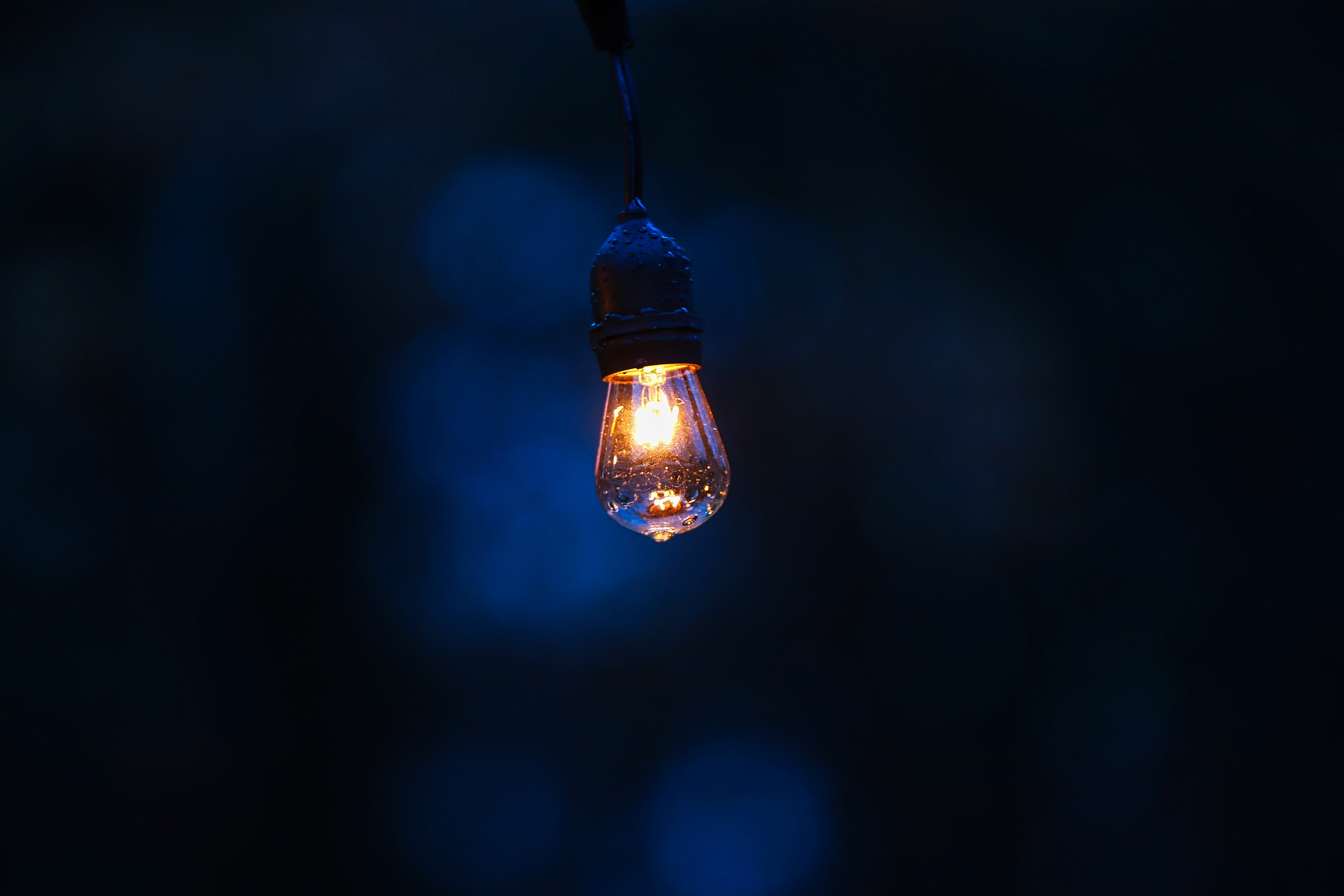 70157 Screensavers and Wallpapers Lamp for phone. Download Drops, Minimalism, Dark Background, Lamp, Illumination, Lighting pictures for free