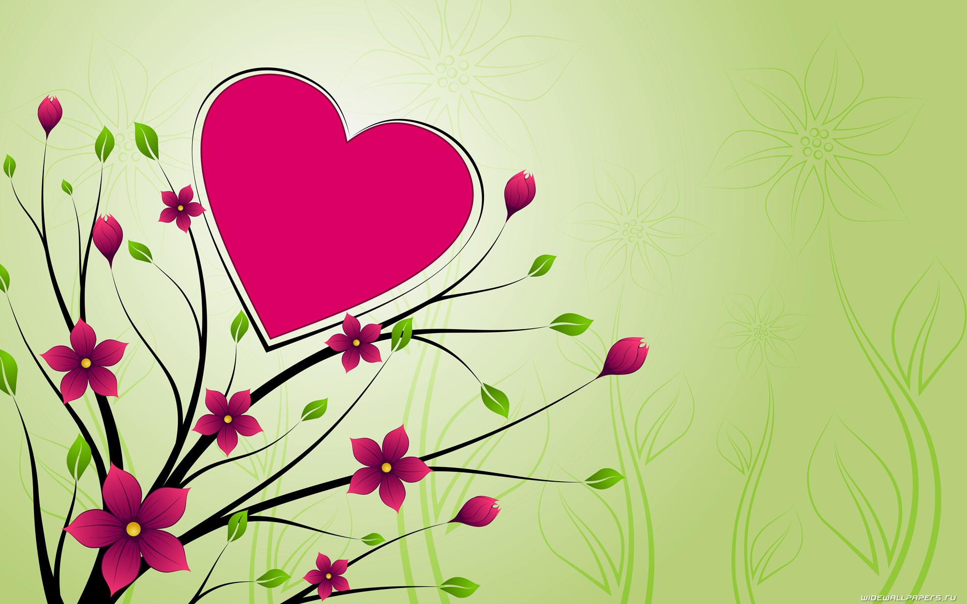 8270 скачать обои Сердца, Любовь, День Святого Валентина (Valentine's Day), Рисунки - заставки и картинки бесплатно