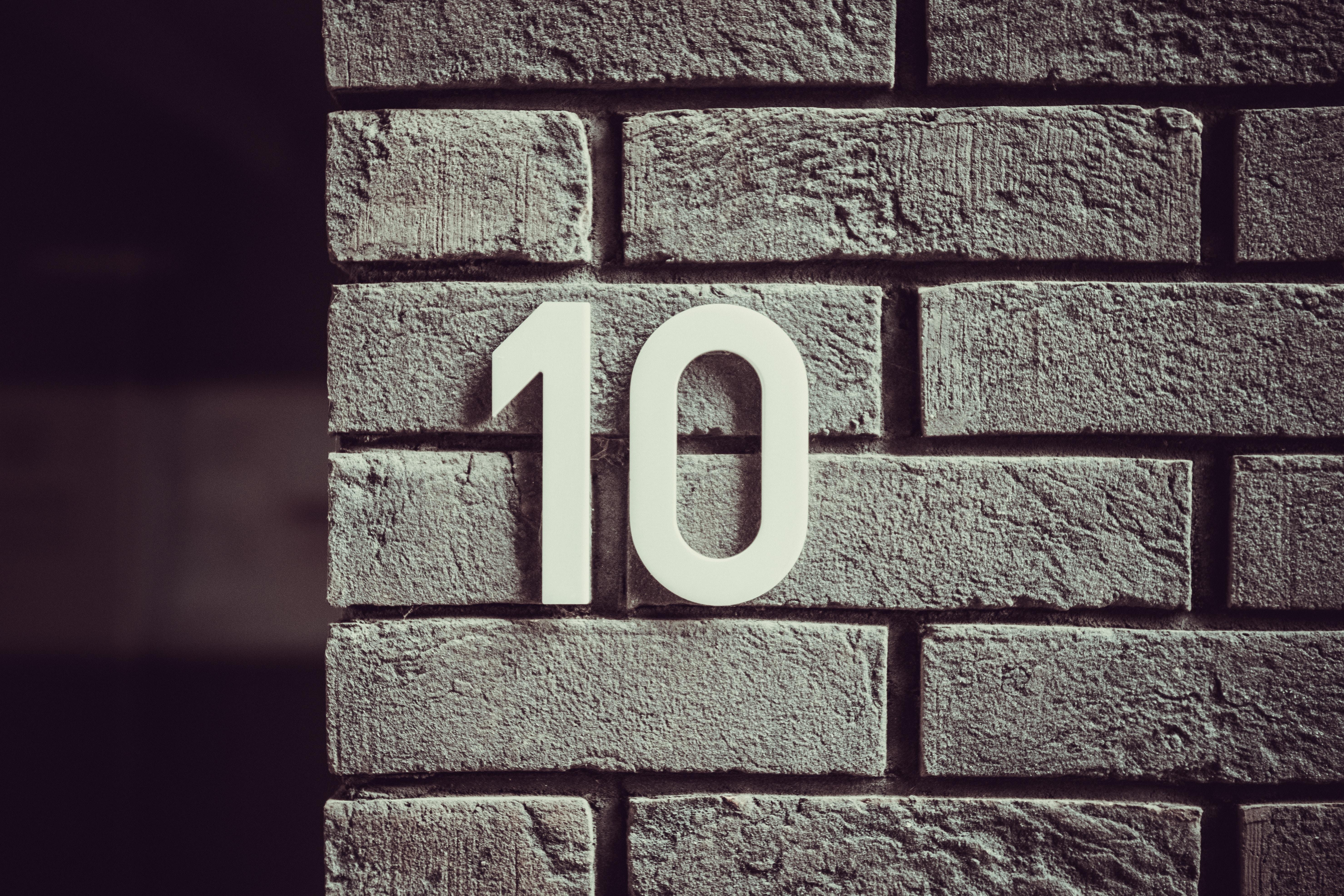 118789壁紙のダウンロードその他, 雑, 壁, 数字, 像, レンガ, 煉瓦, ルーム, 数-スクリーンセーバーと写真を無料で