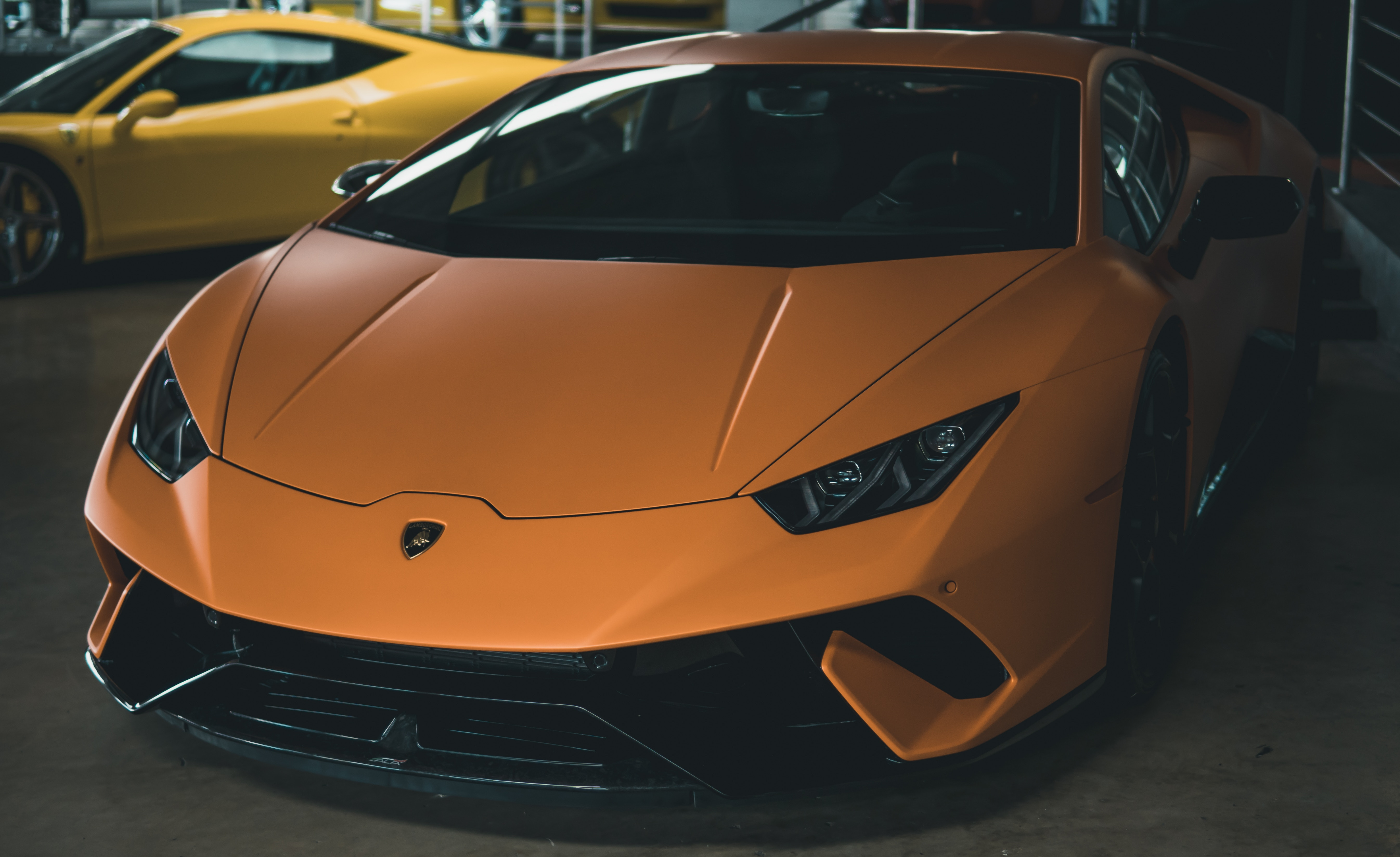 117556 download wallpaper Cars, Auto, Sports Car, Sports, Front View, Headlights, Lights screensavers and pictures for free