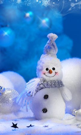 34819 Screensavers and Wallpapers Holidays for phone. Download Holidays, New Year, Toys, Snowman pictures for free