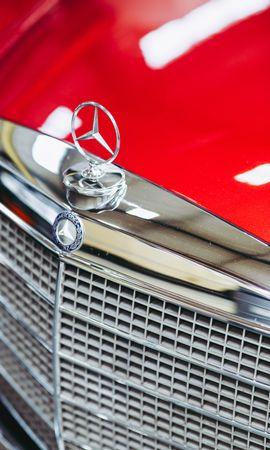 132469 télécharger le fond d'écran Voitures, Mercedes Daimler Benz 280, Mercedes, Signe - économiseurs d'écran et images gratuitement