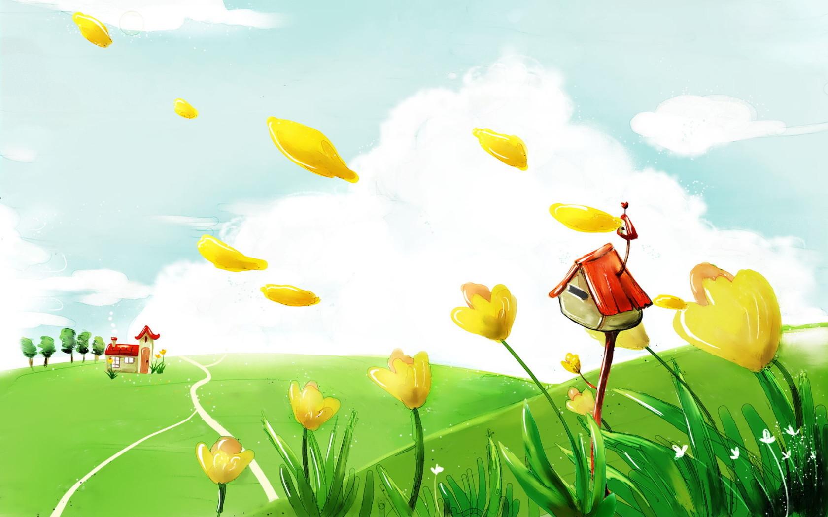 9431 descargar fondo de pantalla Paisaje, Flores, Imágenes: protectores de pantalla e imágenes gratis