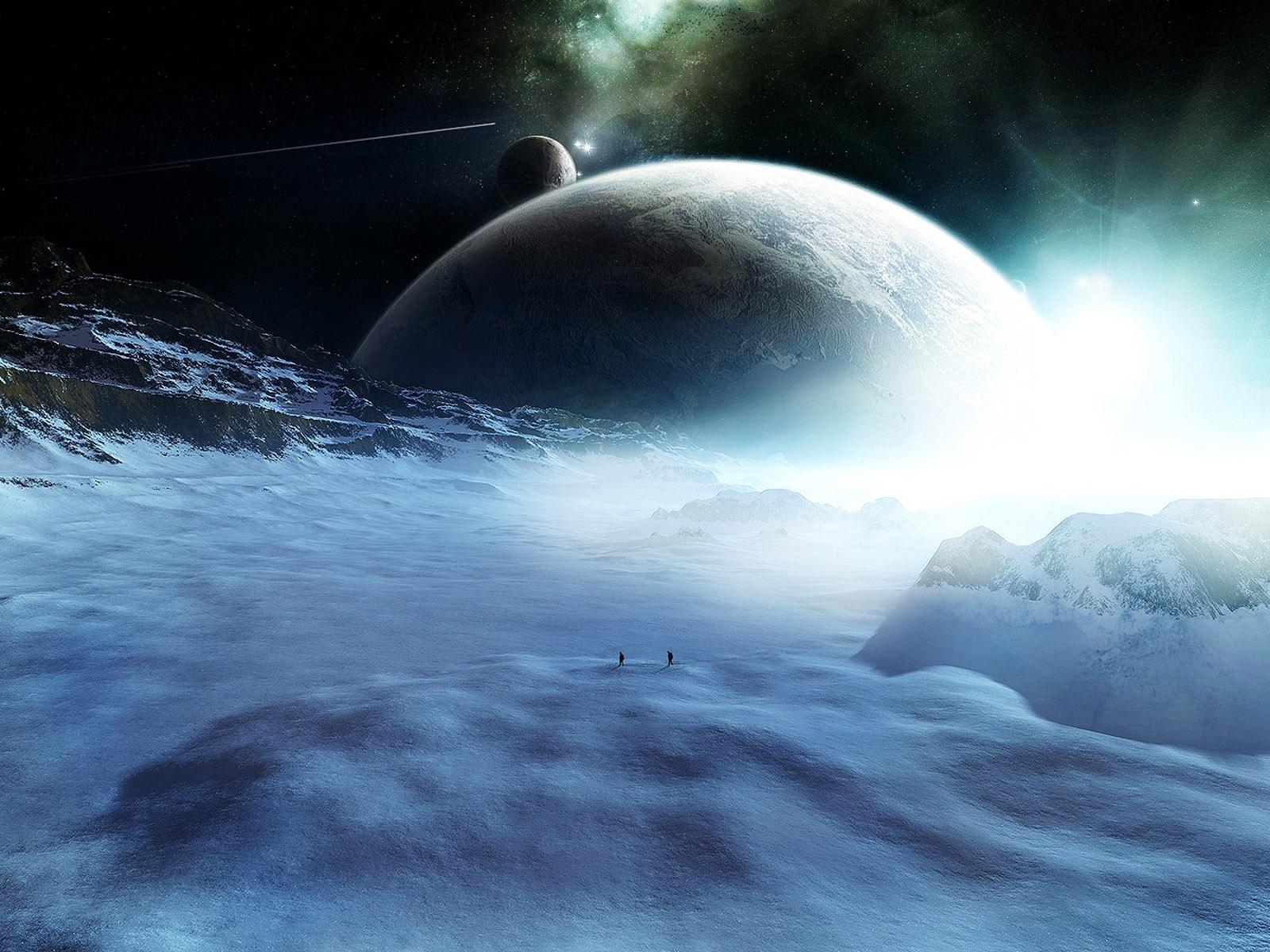 4783 скачать обои Пейзаж, Арт, Планеты, Космос - заставки и картинки бесплатно