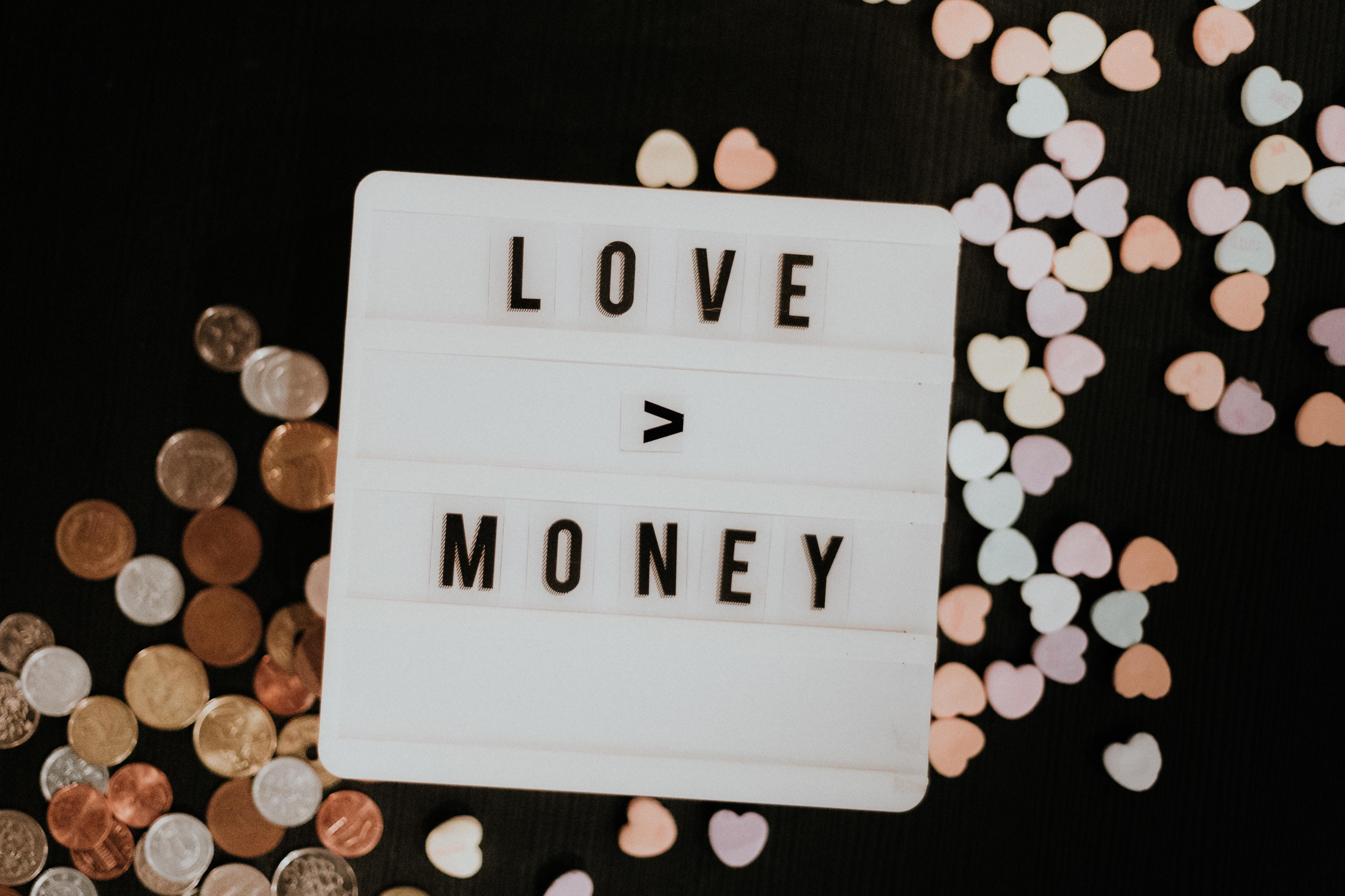 151160 Заставки и Обои Деньги на телефон. Скачать Деньги, Любовь, Слова, Фраза картинки бесплатно