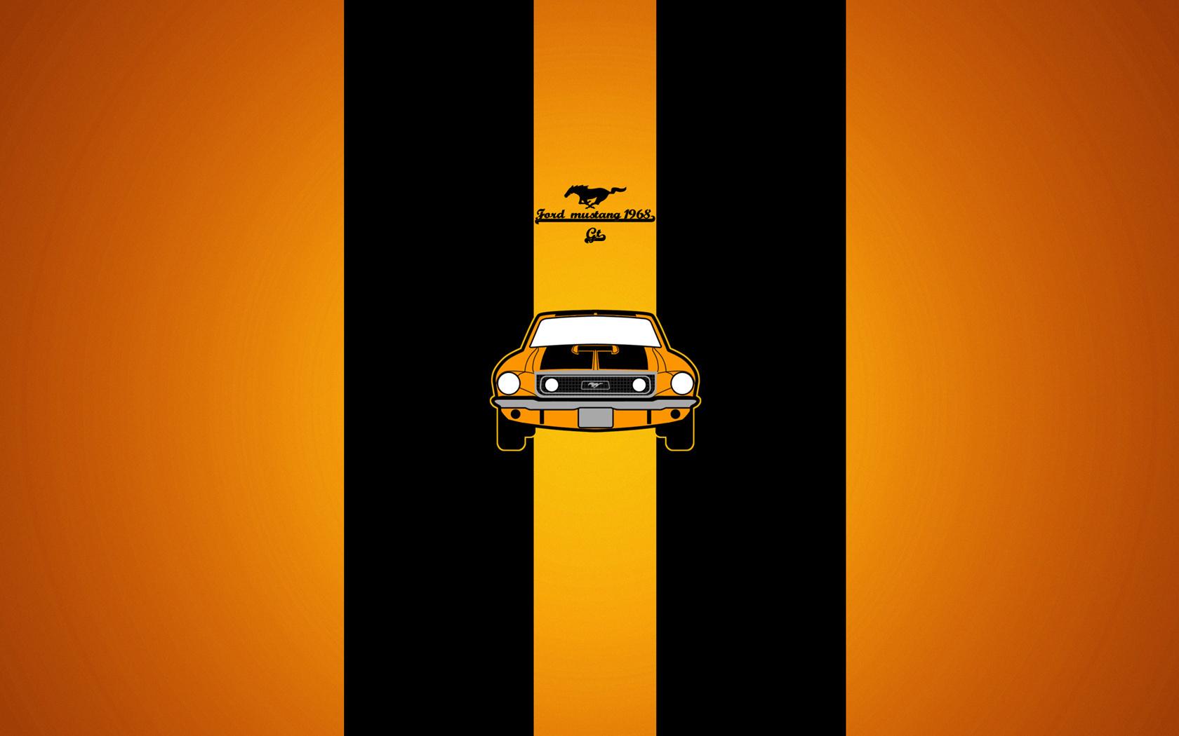 23052 скачать обои Транспорт, Машины, Фон, Мустанг (Mustang) - заставки и картинки бесплатно