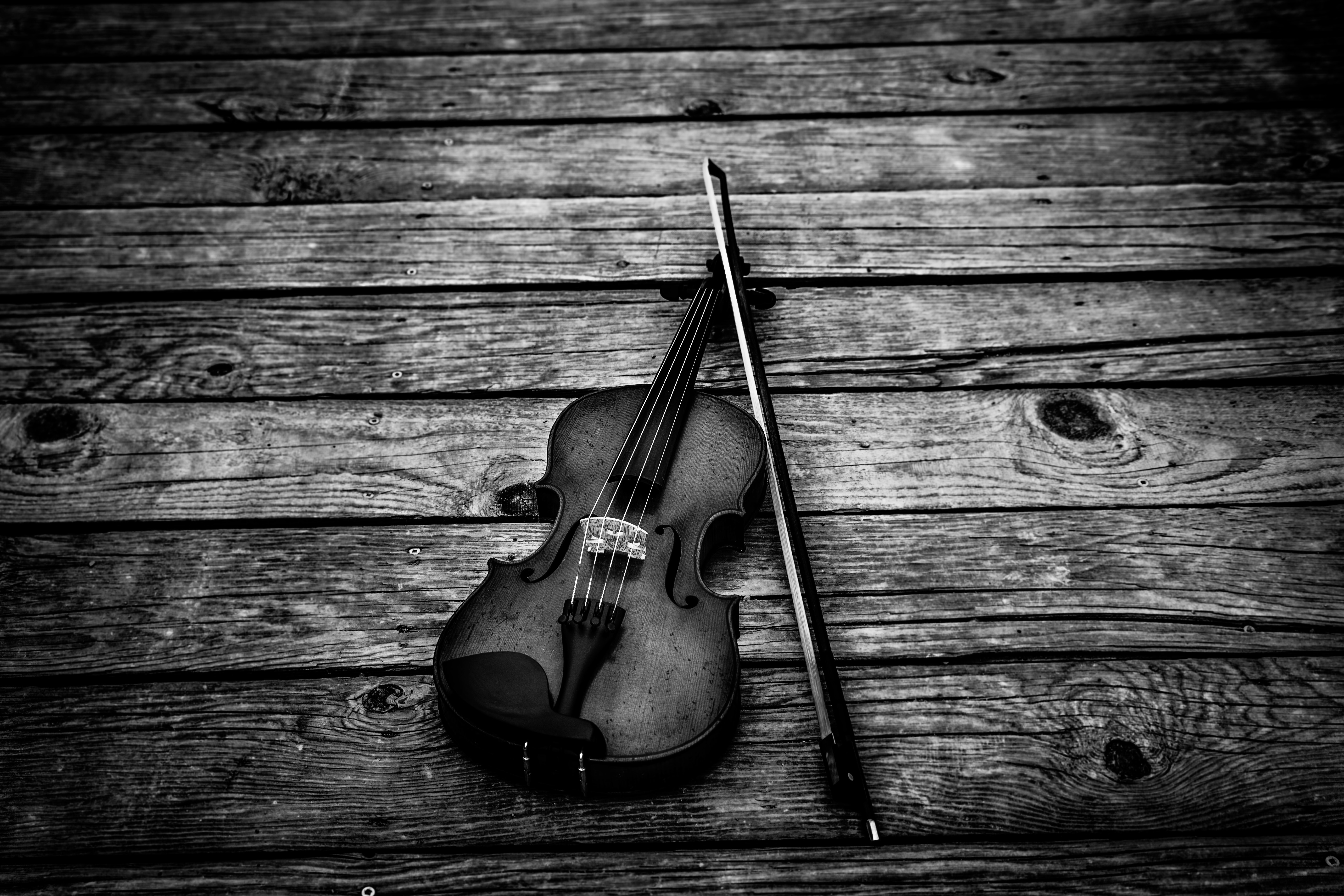 147869 Screensavers and Wallpapers Bw for phone. Download Music, Musical Instrument, Bw, Chb, Bow, Violin pictures for free