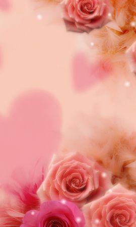 10121 скачать обои Растения, Цветы, Розы, Открытки - заставки и картинки бесплатно
