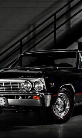 113329 télécharger le fond d'écran Voitures, Chevrolet, Le Noir, Élégant, Chic - économiseurs d'écran et images gratuitement