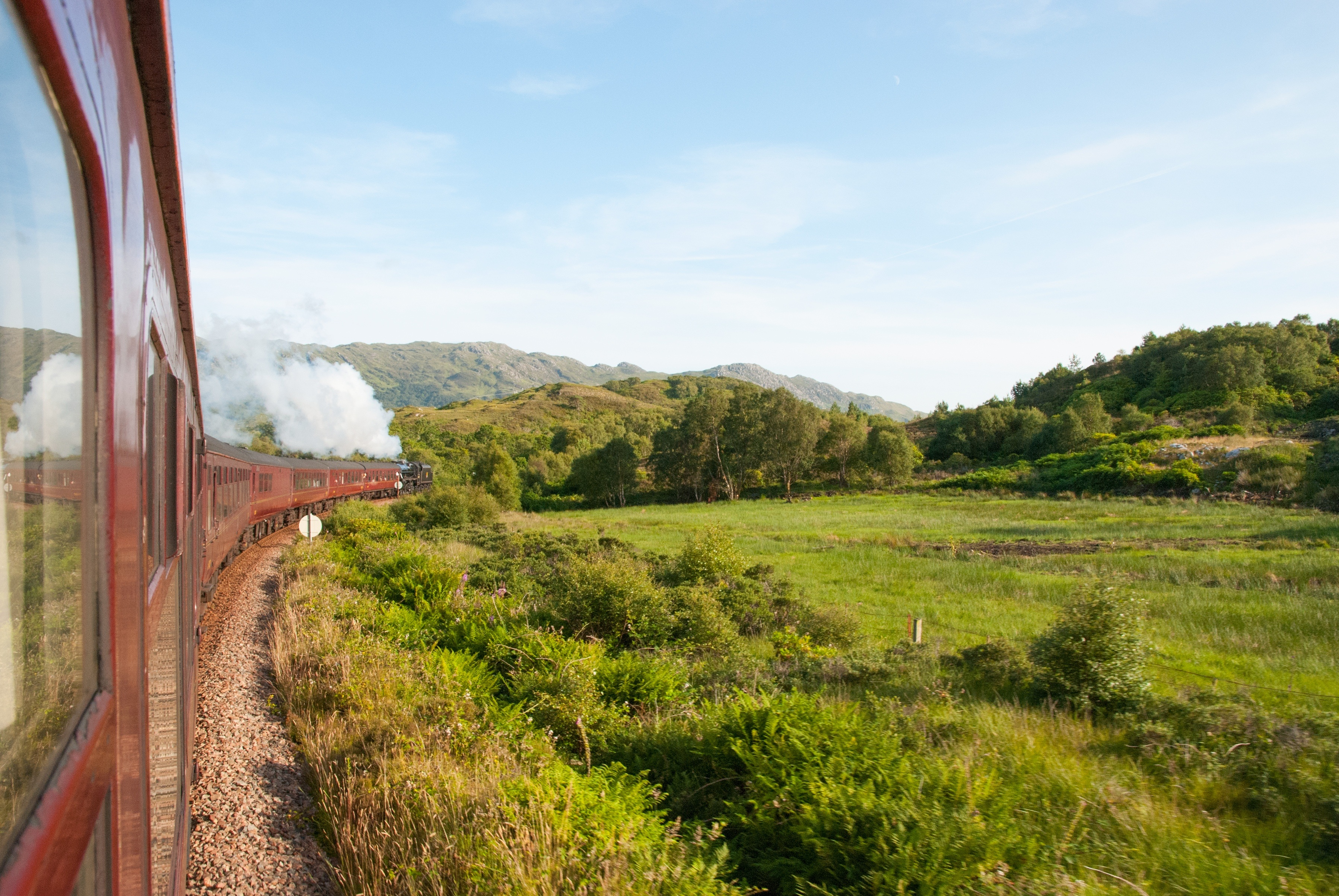 56810 Screensavers and Wallpapers Train for phone. Download Nature, Railway, Train pictures for free