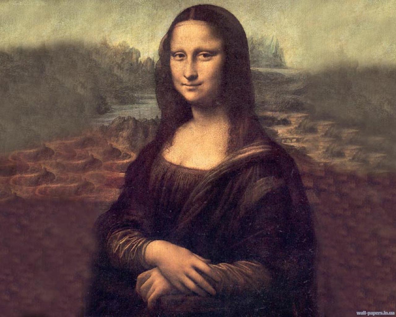 1769 скачать обои Картины, Рисунки, Джоконда - заставки и картинки бесплатно