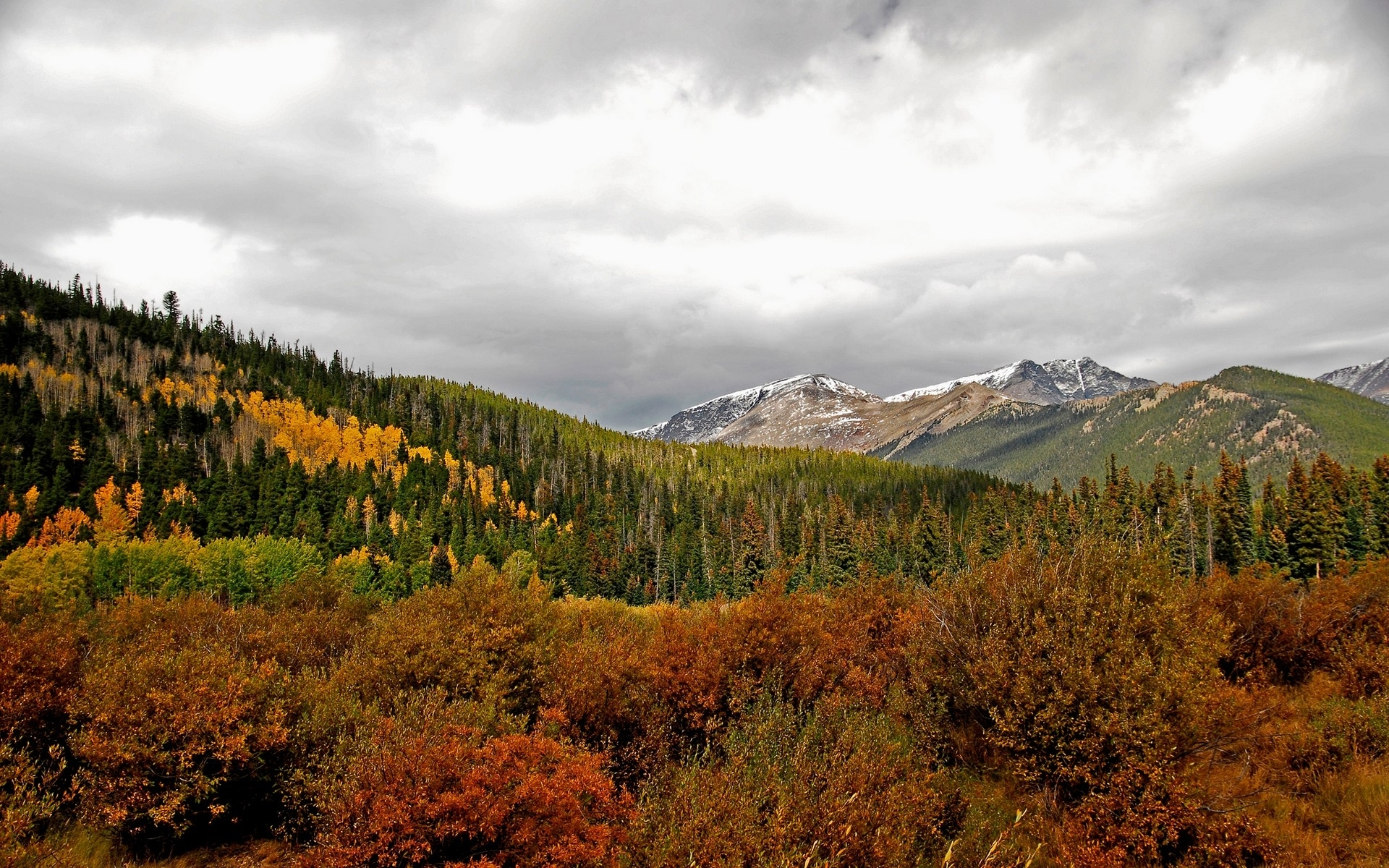 Скачать картинку Горы, Деревья, Пейзаж в телефон бесплатно.
