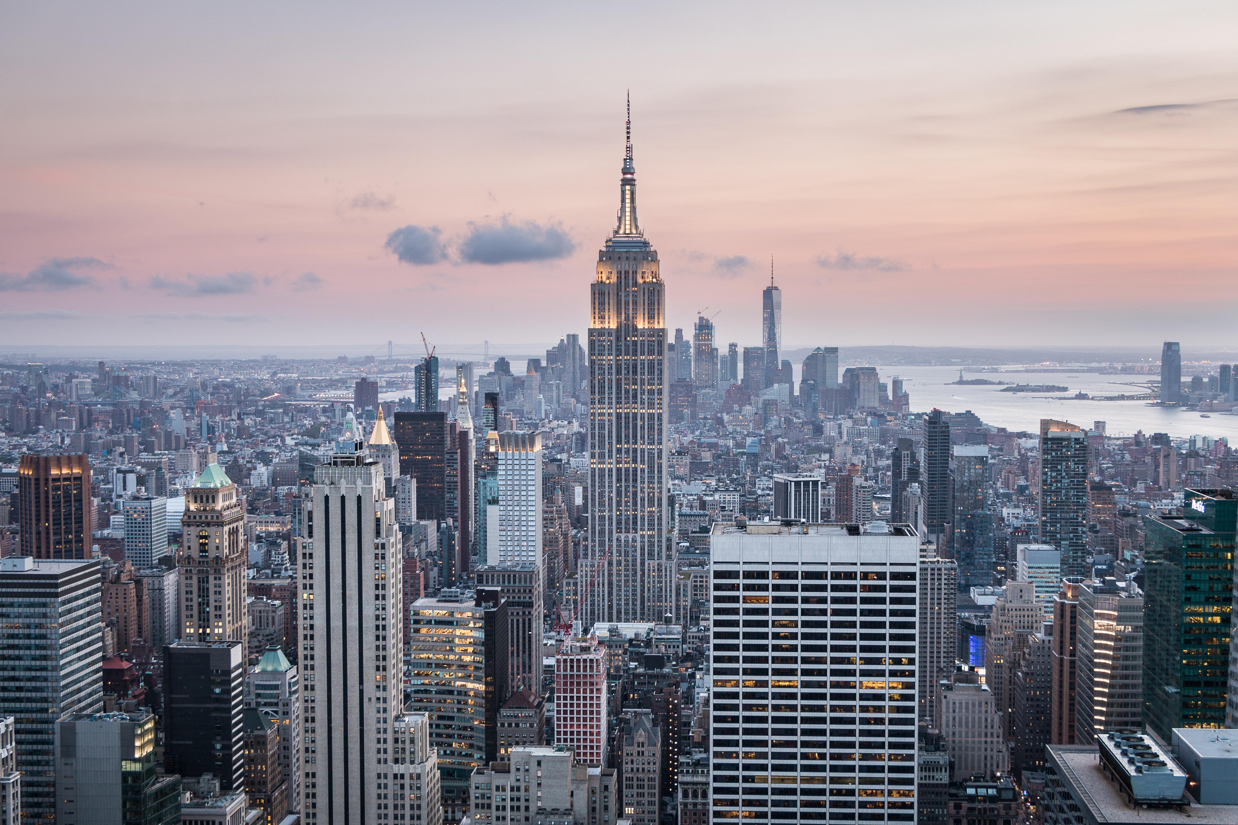 56849 descargar fondo de pantalla Ciudades, Rascacielos, Vista Desde Arriba, Ee.uu, Estados Unidos, Nueva York: protectores de pantalla e imágenes gratis