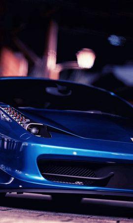 117929 télécharger le fond d'écran Voitures, Ferrari 458 Italie, Ferrari 458 Italia, Ferrari, Vue De Face - économiseurs d'écran et images gratuitement