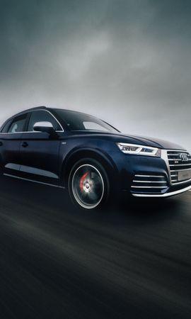 62522 télécharger le fond d'écran Voitures, Audi Sq5, Audi, Route, Circulation, Mouvement, La Vitesse, Vitesse - économiseurs d'écran et images gratuitement