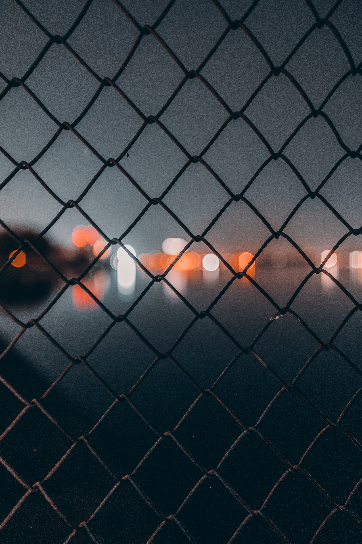 105839 Hintergrundbild herunterladen Die Lichter, Lichter, Makro, Dunkel, Unschärfe, Glatt, Gitter, Raster, Zellen, Zelle - Bildschirmschoner und Bilder kostenlos