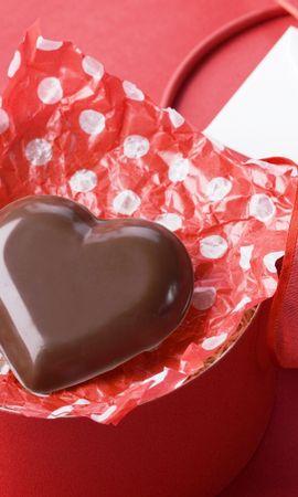28480 скачать обои Праздники, Еда, Сердца, Шоколад, Любовь, День Святого Валентина (Valentine's Day) - заставки и картинки бесплатно