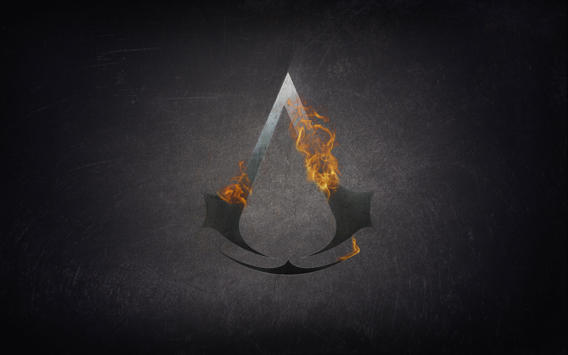 15552 download wallpaper Assassin's Creed, Games, Background, Logos screensavers and pictures for free