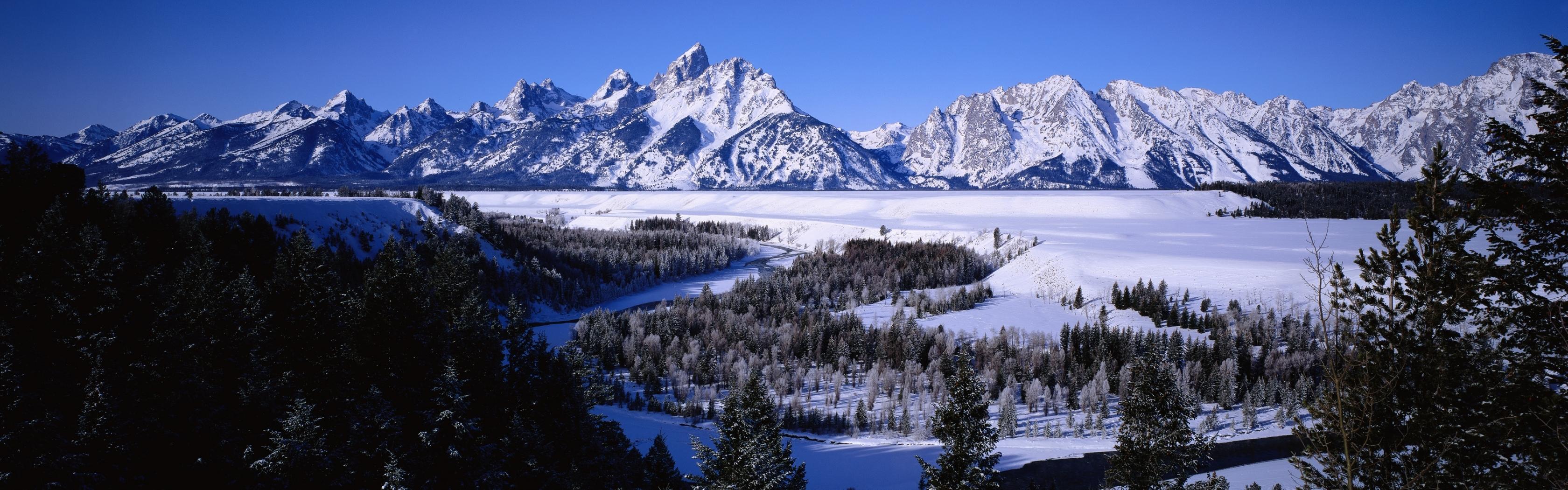 28796 скачать обои Пейзаж, Зима, Горы - заставки и картинки бесплатно