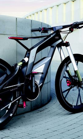 150456 télécharger le fond d'écran Sport, Des Sports, Sportif, Audi, Fond Gris, Bicyclette - économiseurs d'écran et images gratuitement
