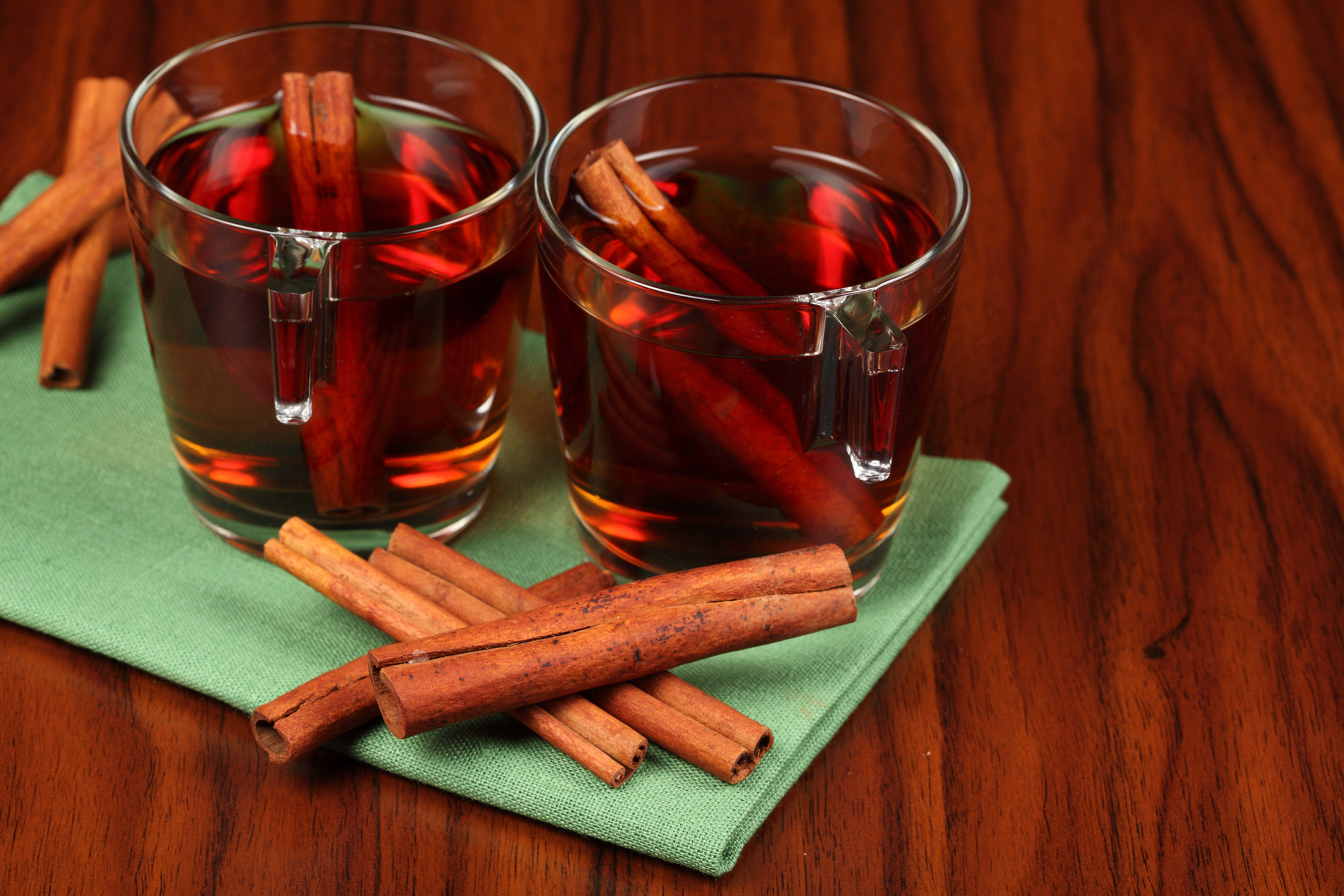 73752 download wallpaper Food, Cups, Cinnamon, Tea, Napkin screensavers and pictures for free