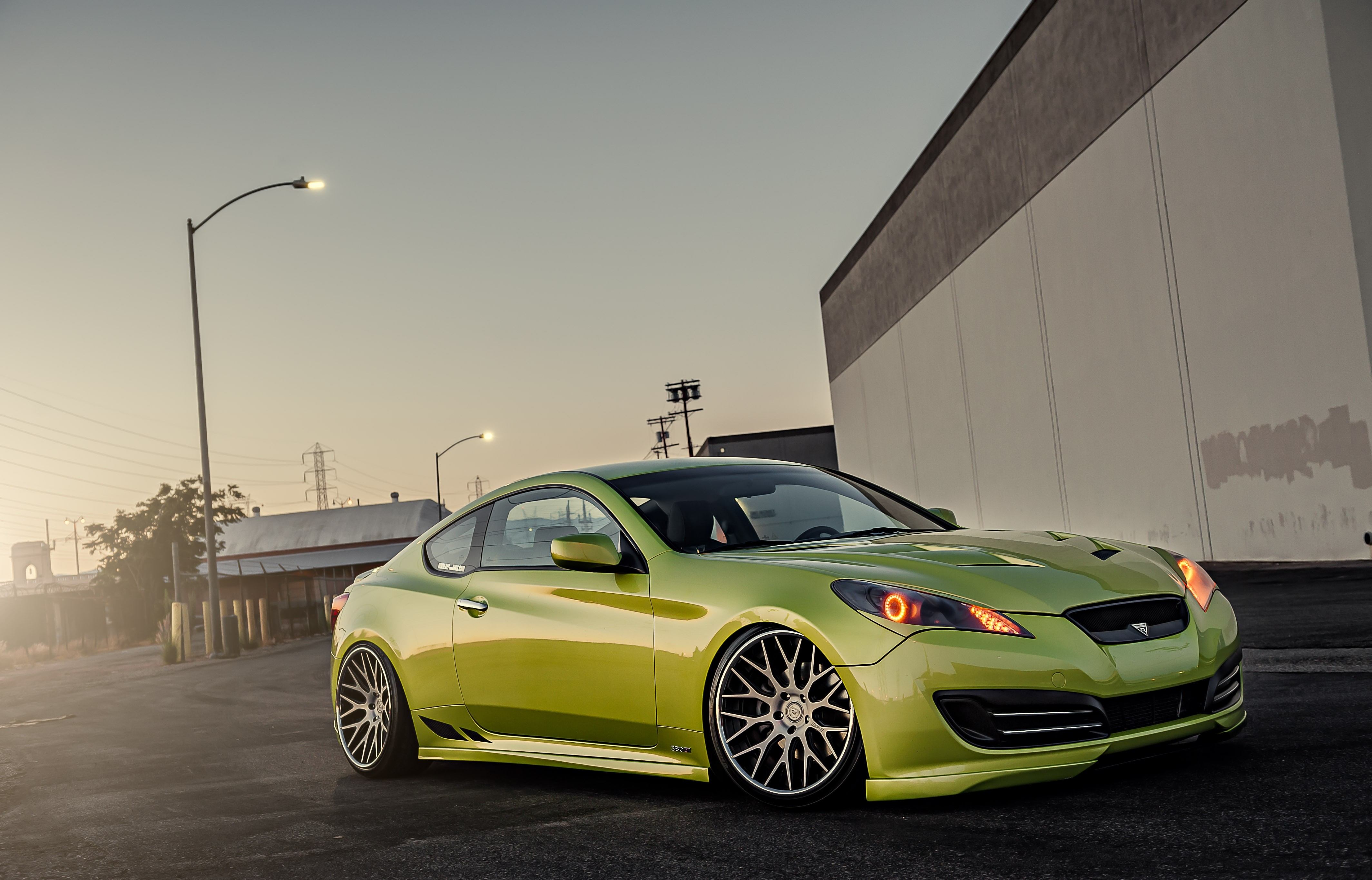 70860 download wallpaper Hyundai, Cars, Stance, Genesis screensavers and pictures for free