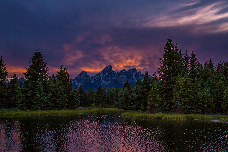 131697 Заставки и Обои Озеро на телефон. Скачать Озеро, Природа, Закат, Горы картинки бесплатно