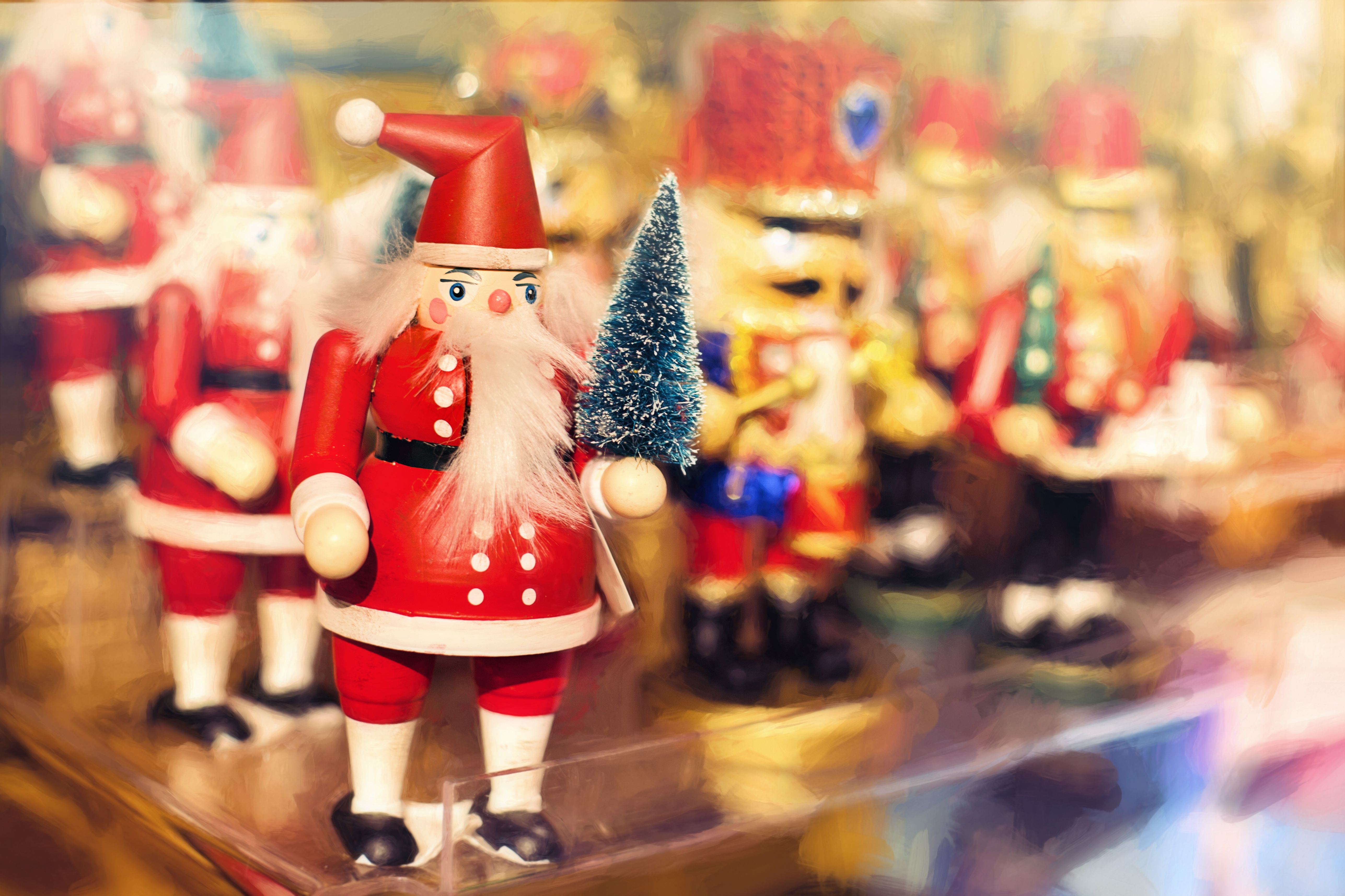 129961 download wallpaper Christmas, Holidays, New Year, Santa Claus screensavers and pictures for free