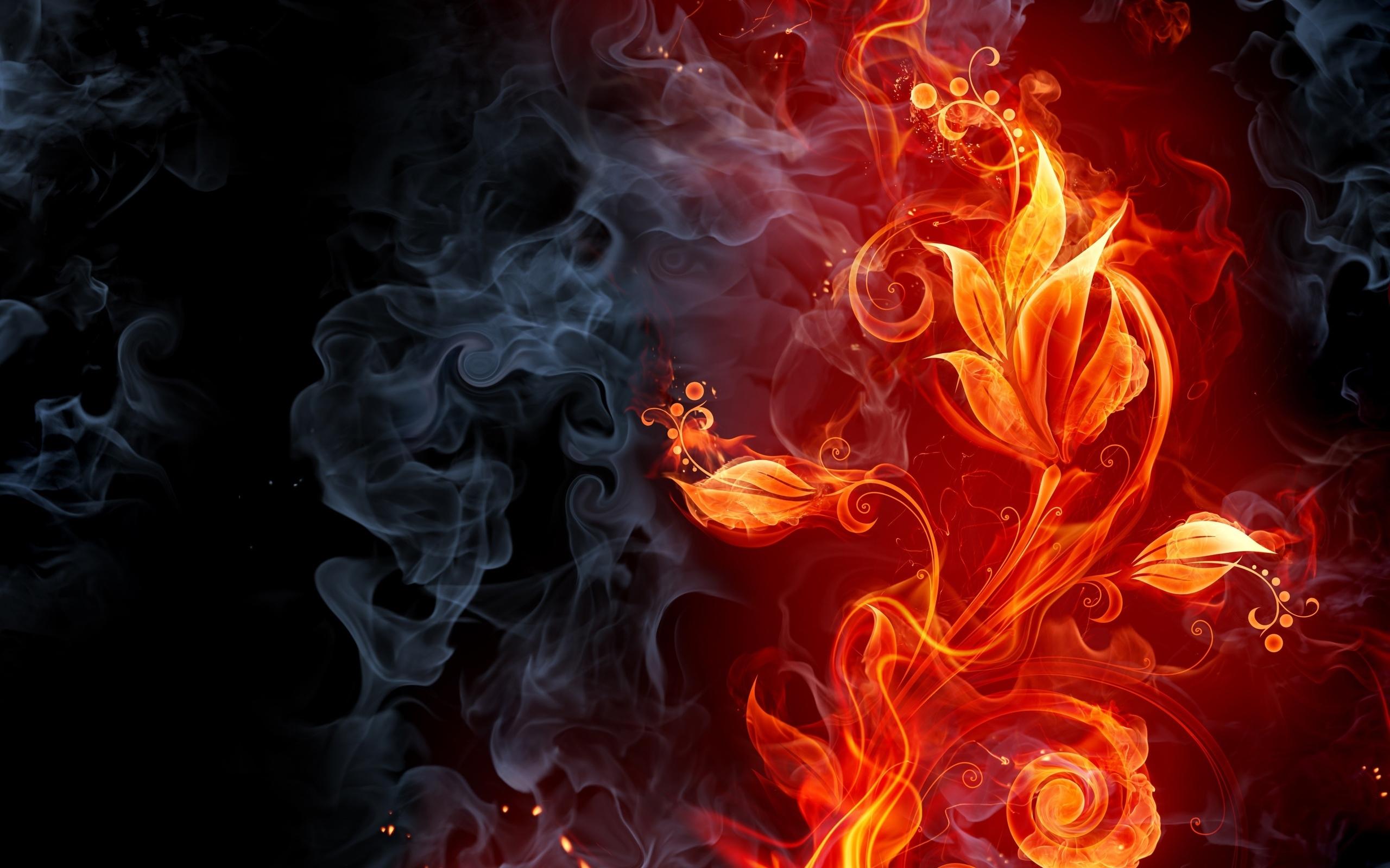 免費壁紙21641:花卉, 背景, 火, 吸烟 下載手機圖片