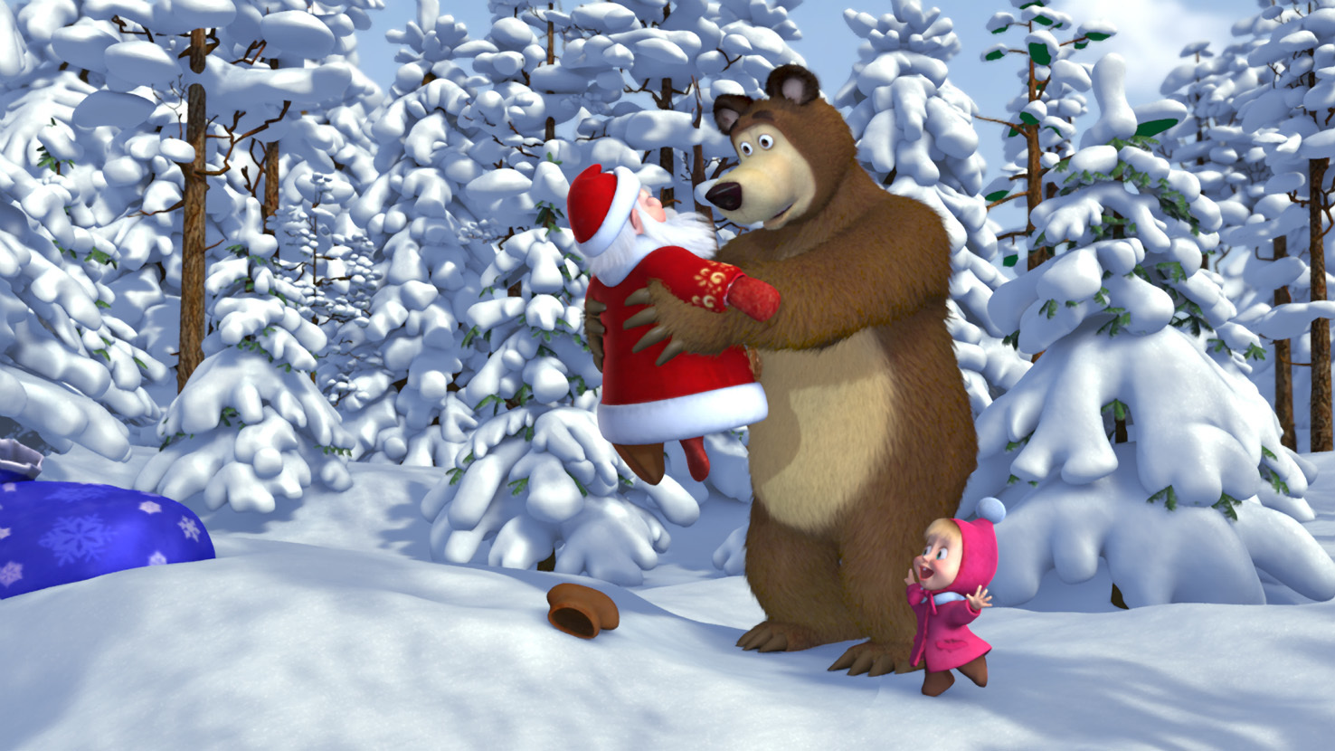 20065 Screensavers and Wallpapers Masha And The Bear for phone. Download Cartoon, Masha And The Bear pictures for free