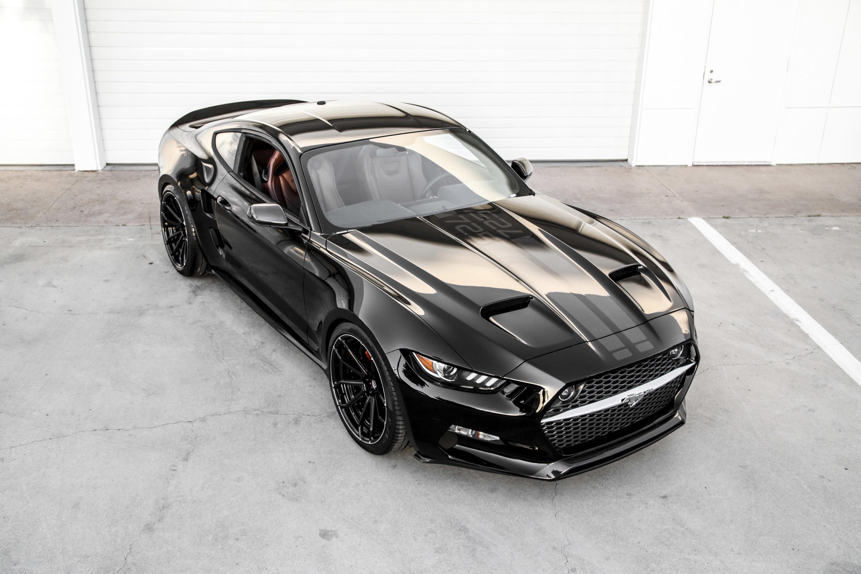 50798 Hintergrundbild herunterladen Ford, Mustang, Cars, Blick Von Oben, Das Schwarze, Rakete - Bildschirmschoner und Bilder kostenlos