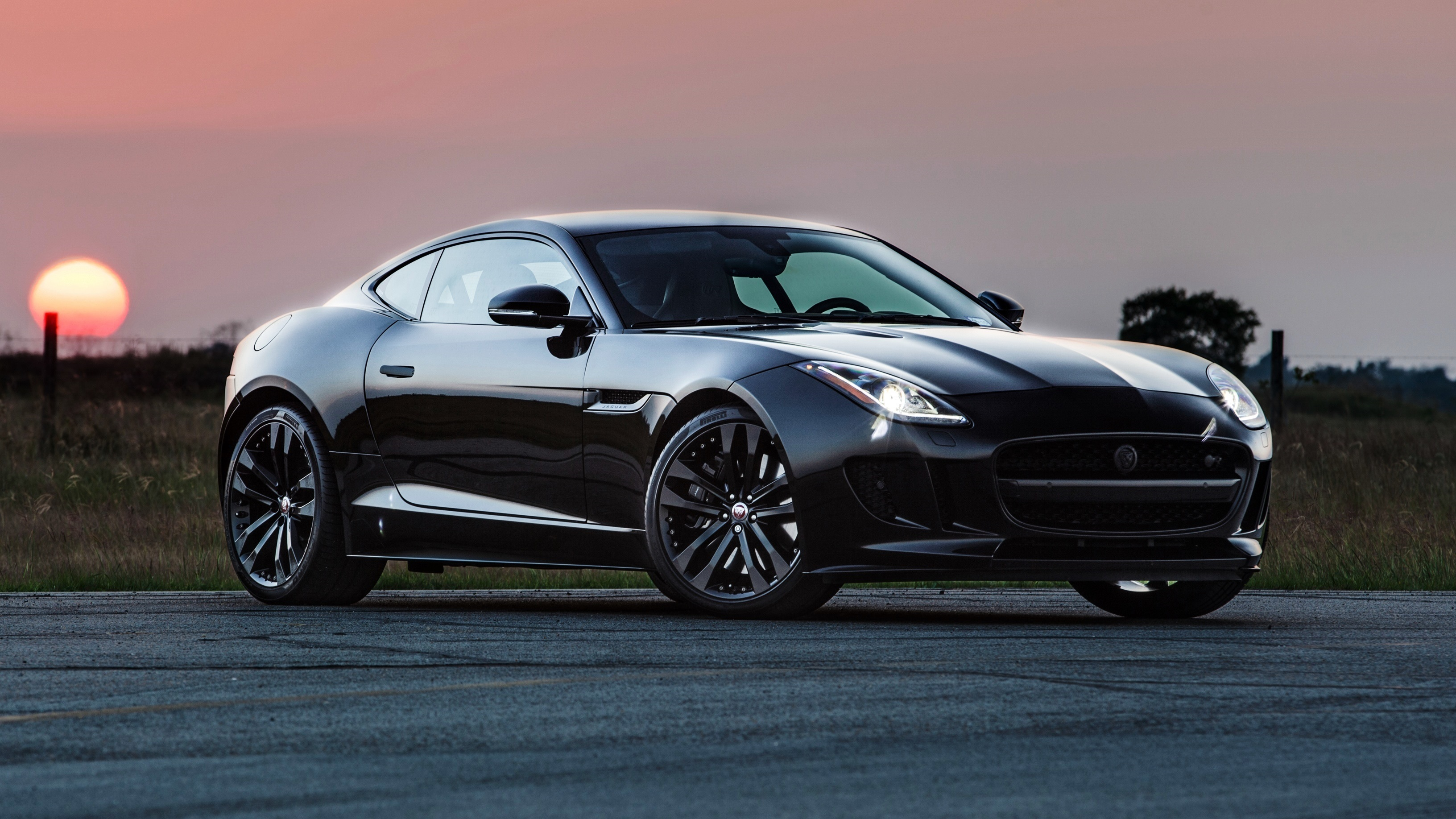 102781 download wallpaper Jaguar, Cars, Side View, Hennessey, F-Type R screensavers and pictures for free