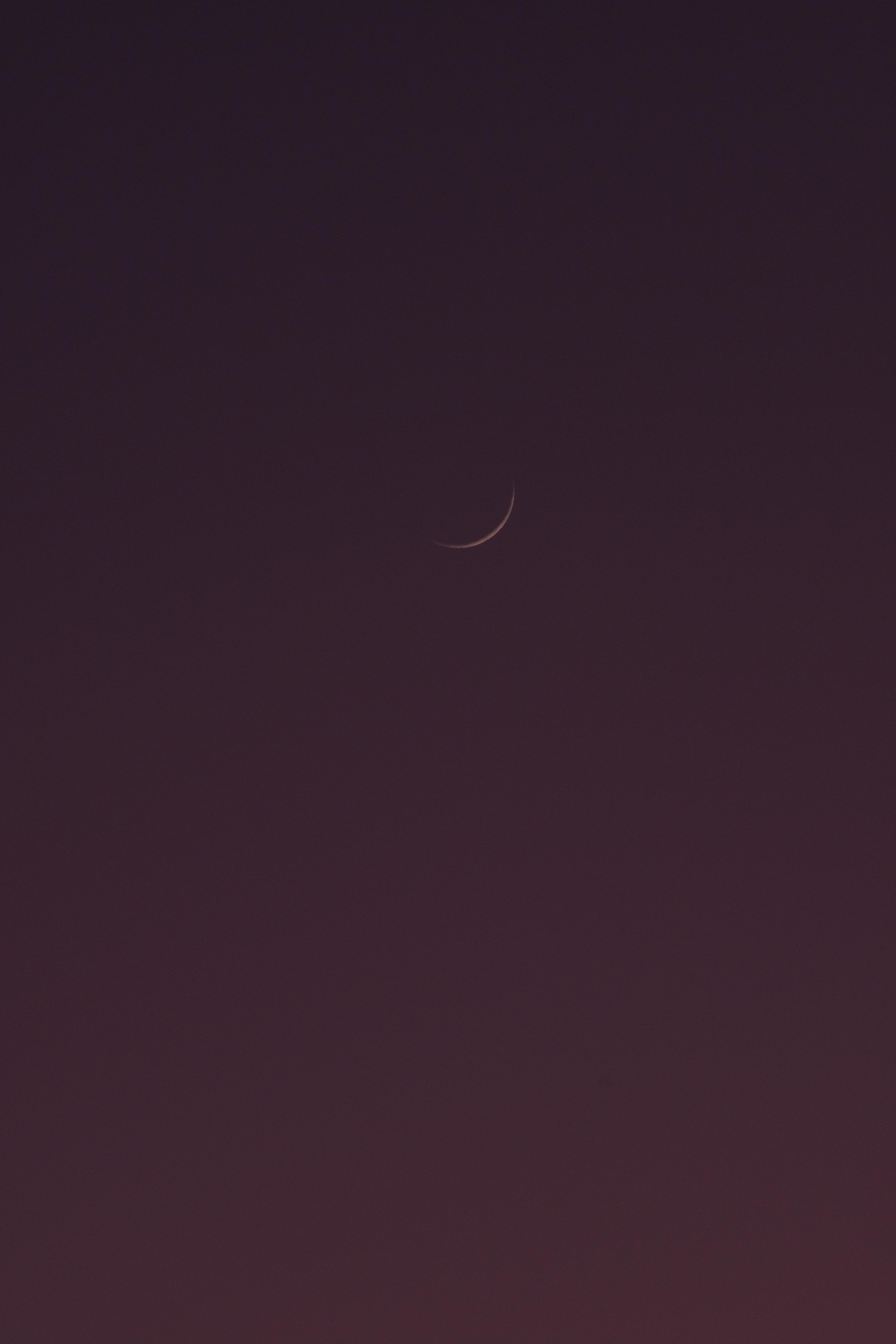 87955 免費下載壁紙 极简主义, 月球, 天空, 夜 屏保和圖片
