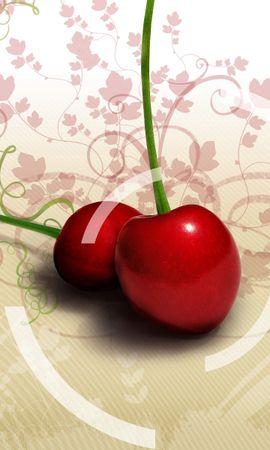 2910 télécharger le fond d'écran Fruits, Cerise, Nourriture, Art, Baies - économiseurs d'écran et images gratuitement